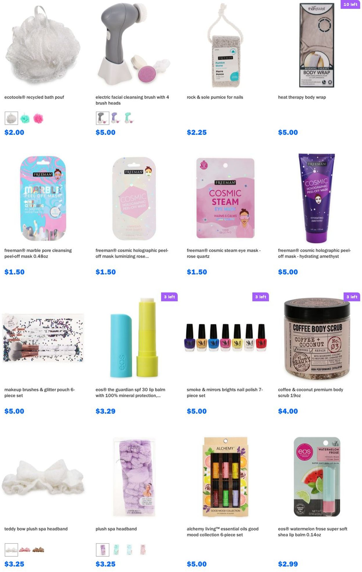 Catalogue Five Below from 07/21/2021
