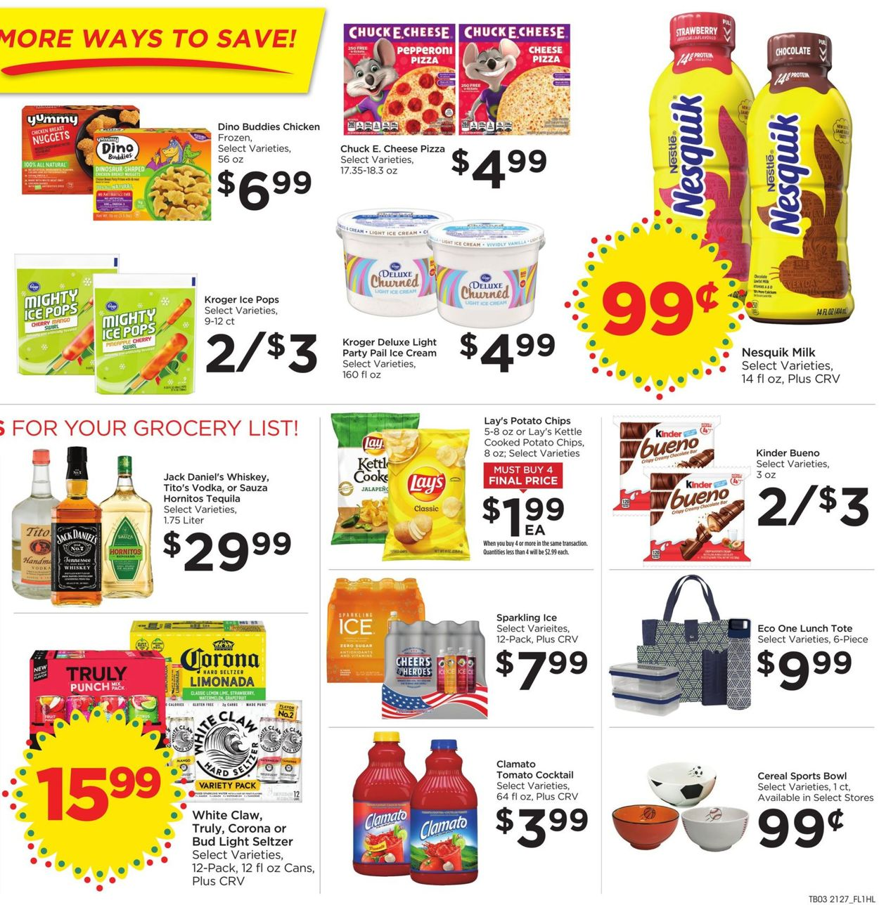 Catalogue Food 4 Less from 08/04/2021