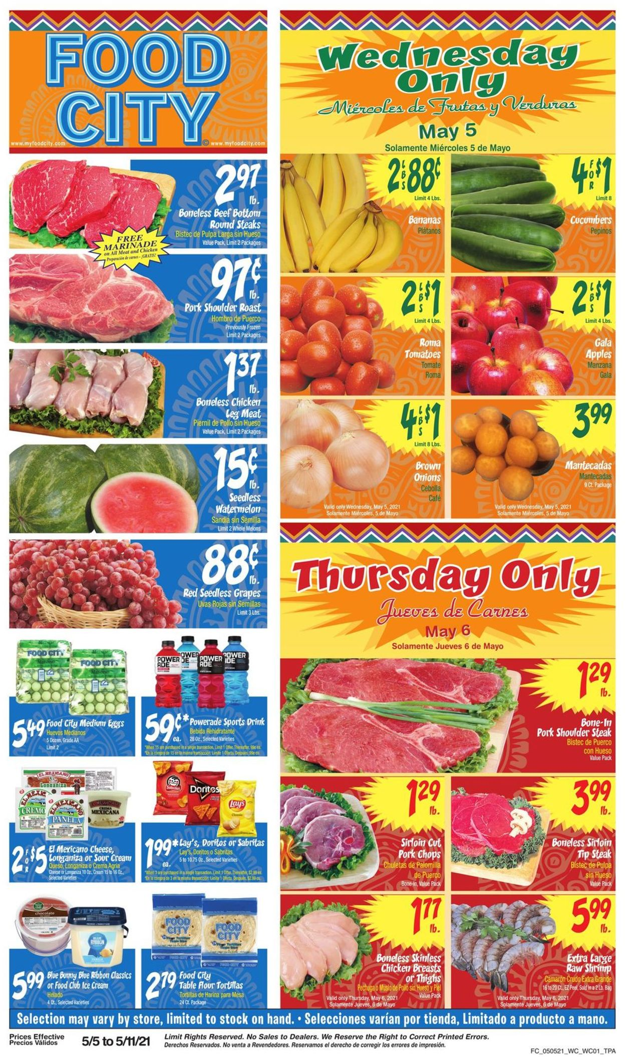 Catalogue Food City from 05/05/2021