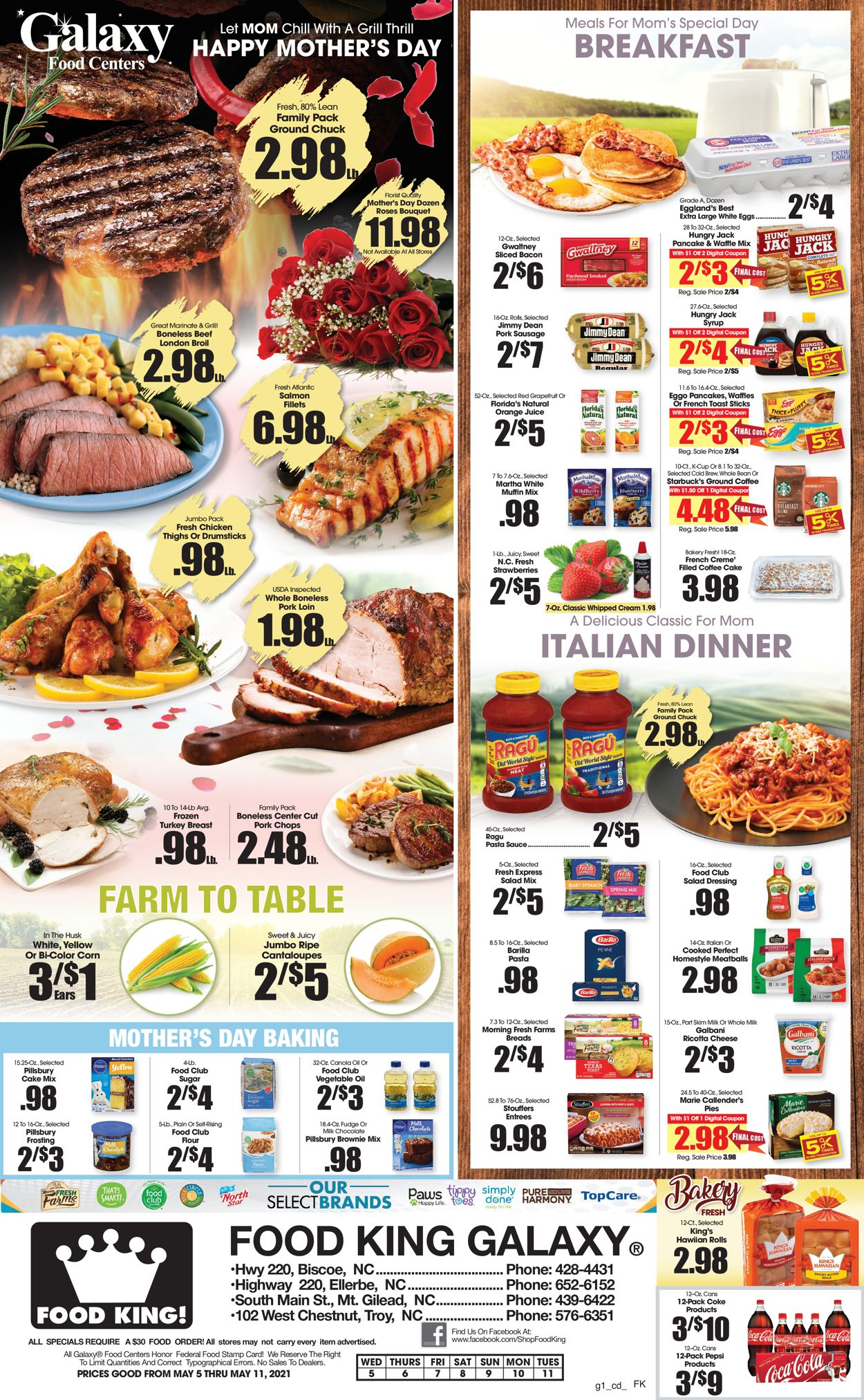 Catalogue Food King from 05/05/2021
