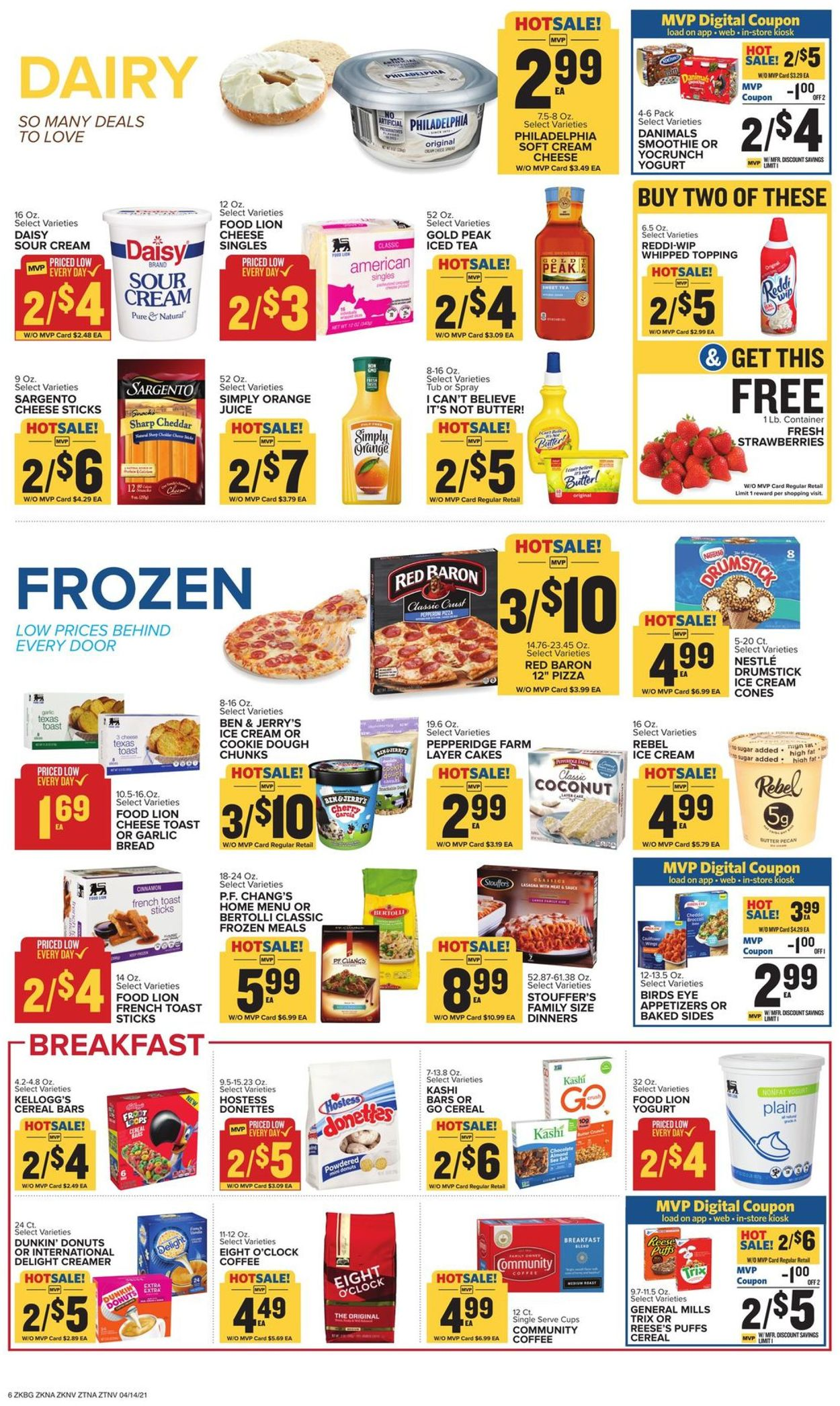 Catalogue Food Lion from 04/14/2021