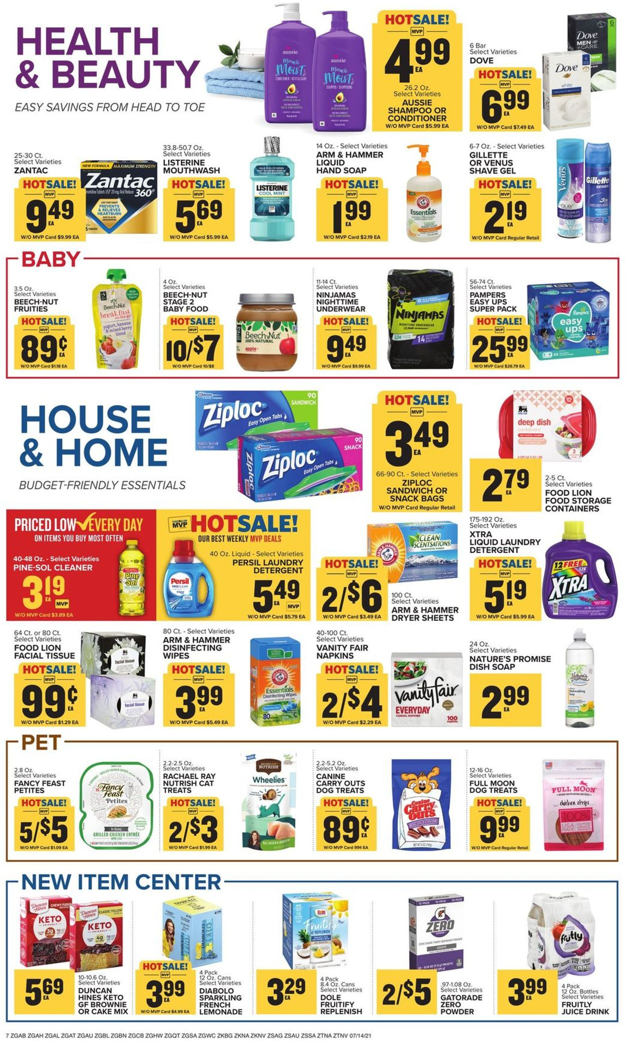 Catalogue Food Lion from 07/14/2021