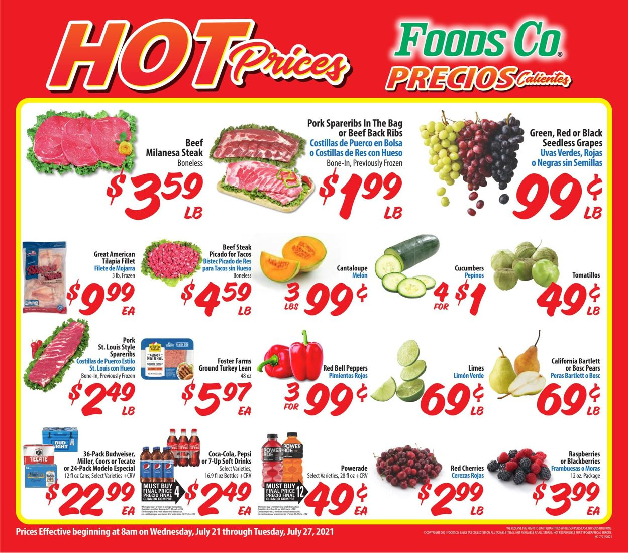 Catalogue Foods Co. from 07/21/2021