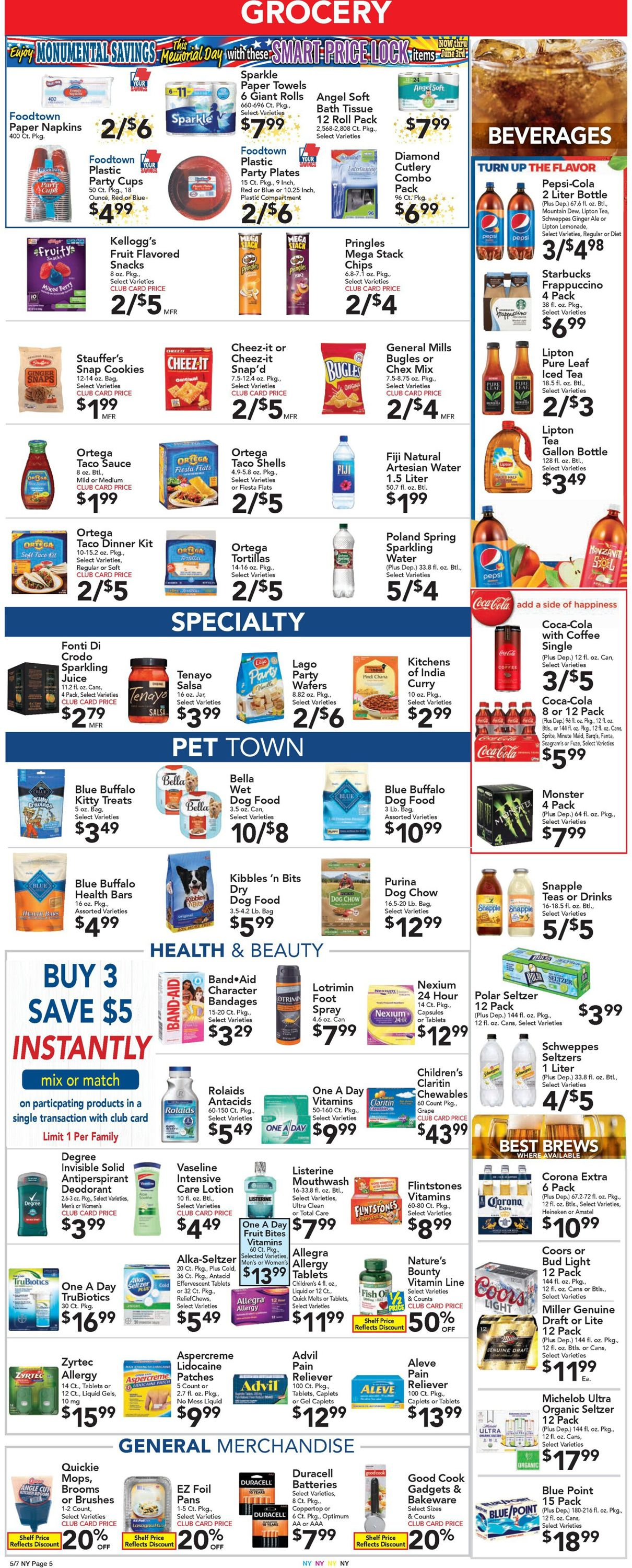 Catalogue Foodtown from 05/07/2021