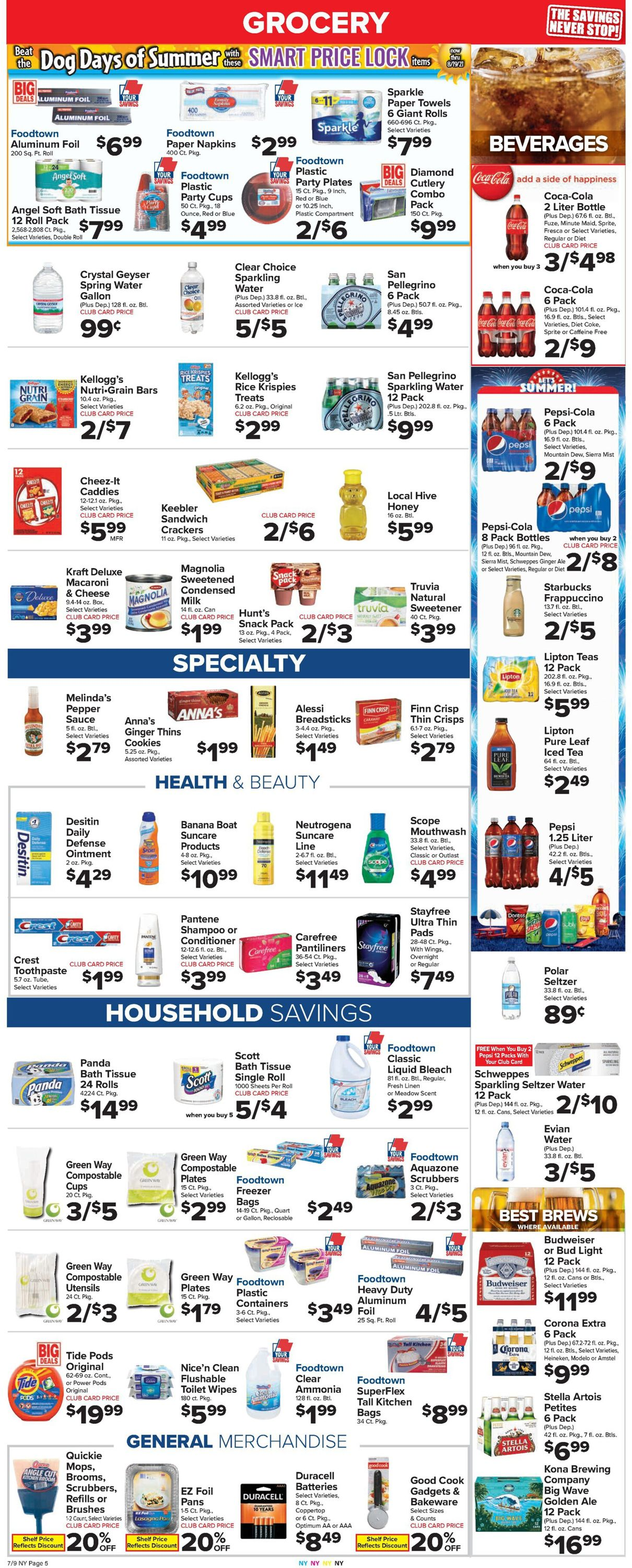 Catalogue Foodtown from 07/09/2021