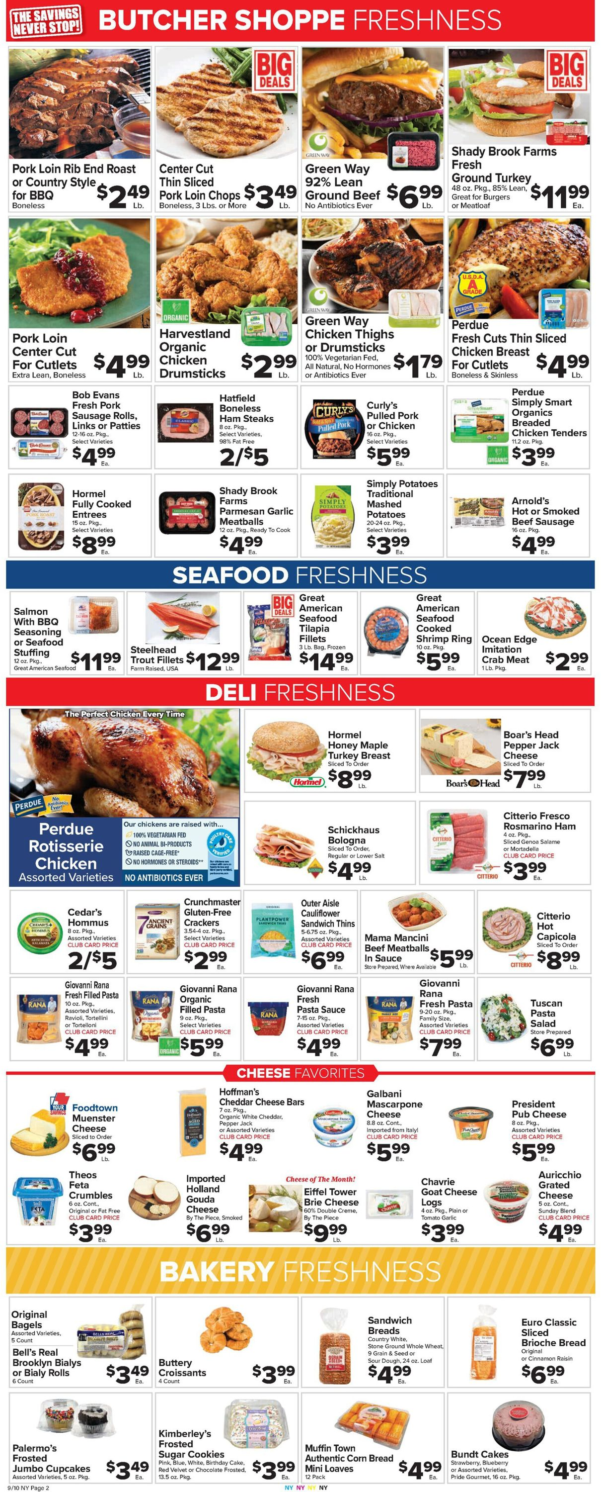 Catalogue Foodtown from 09/10/2021