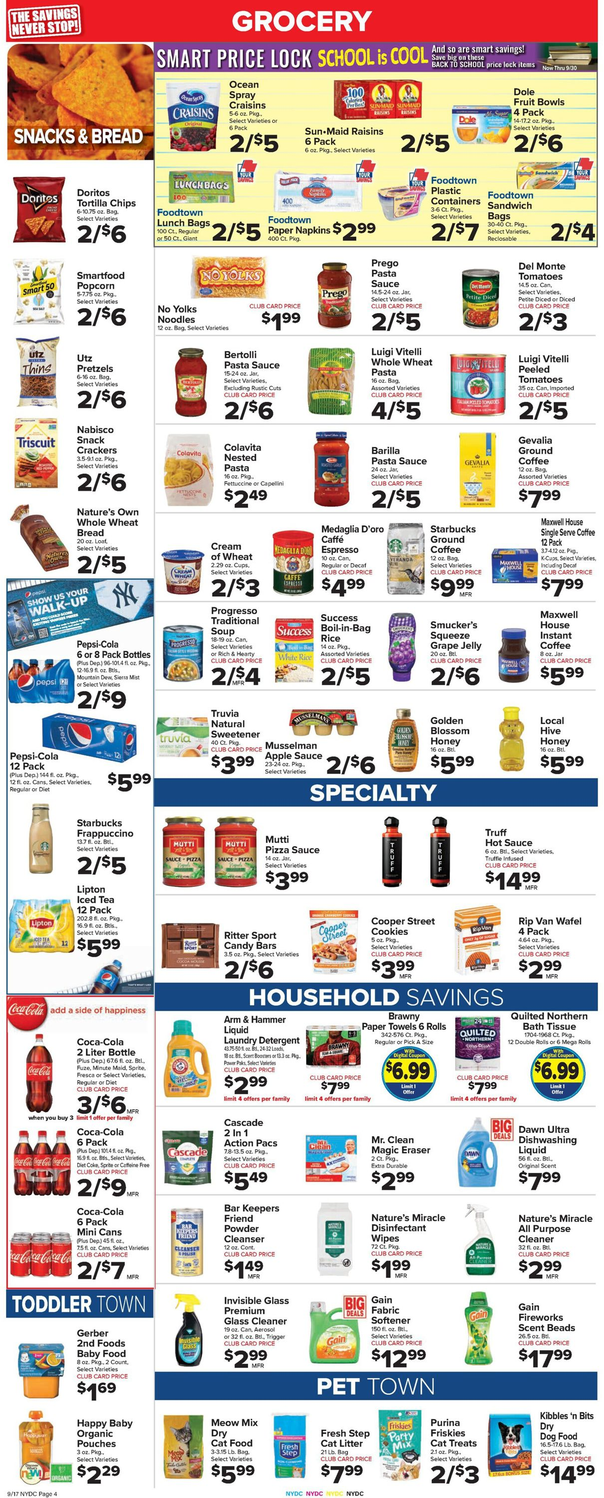 Catalogue Foodtown from 09/17/2021