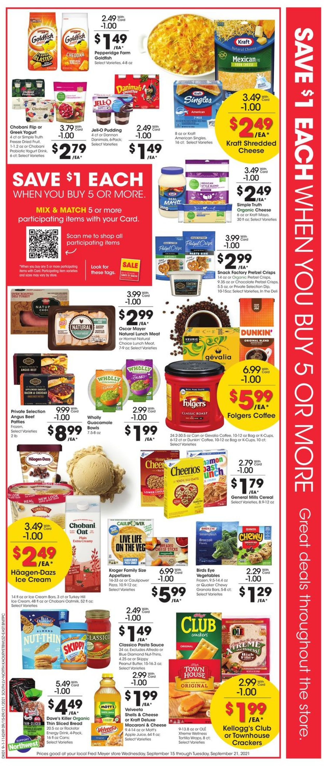 Catalogue Fred Meyer from 09/15/2021