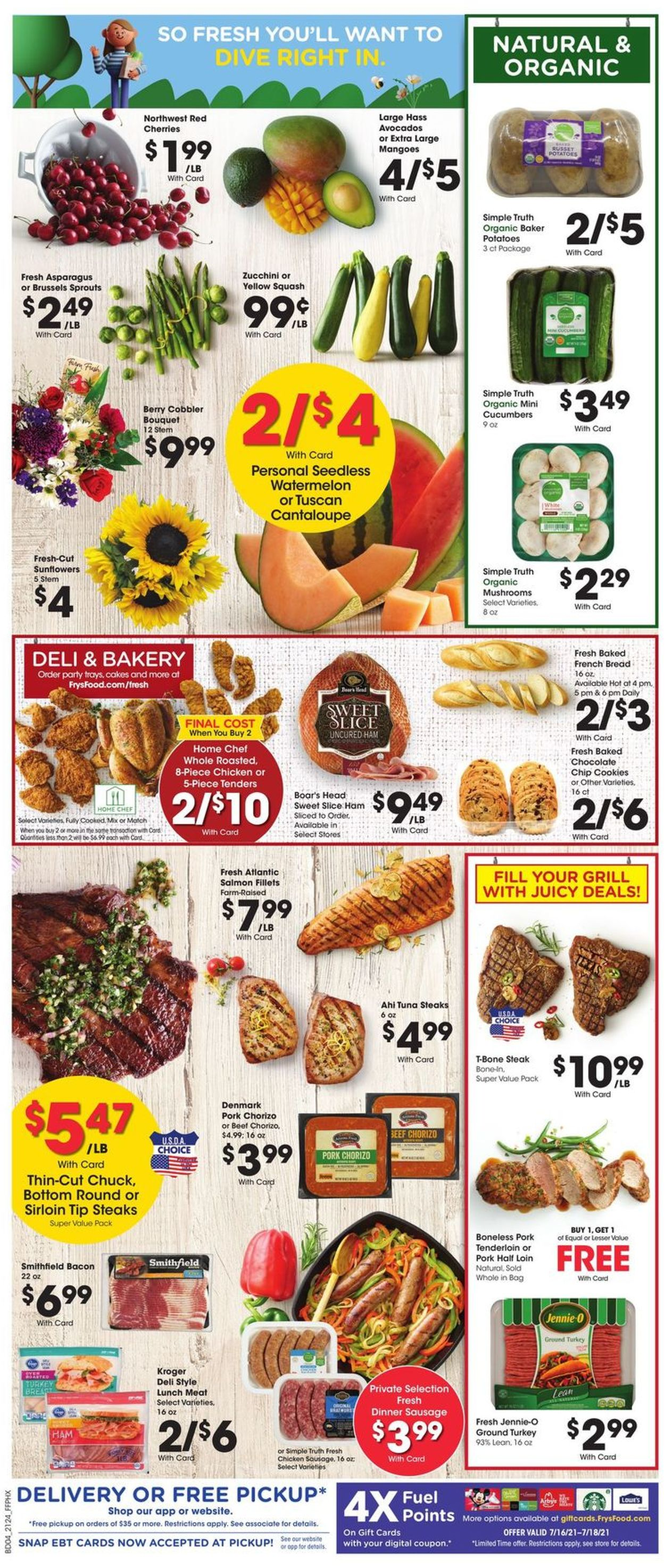 Catalogue Fry's from 07/14/2021