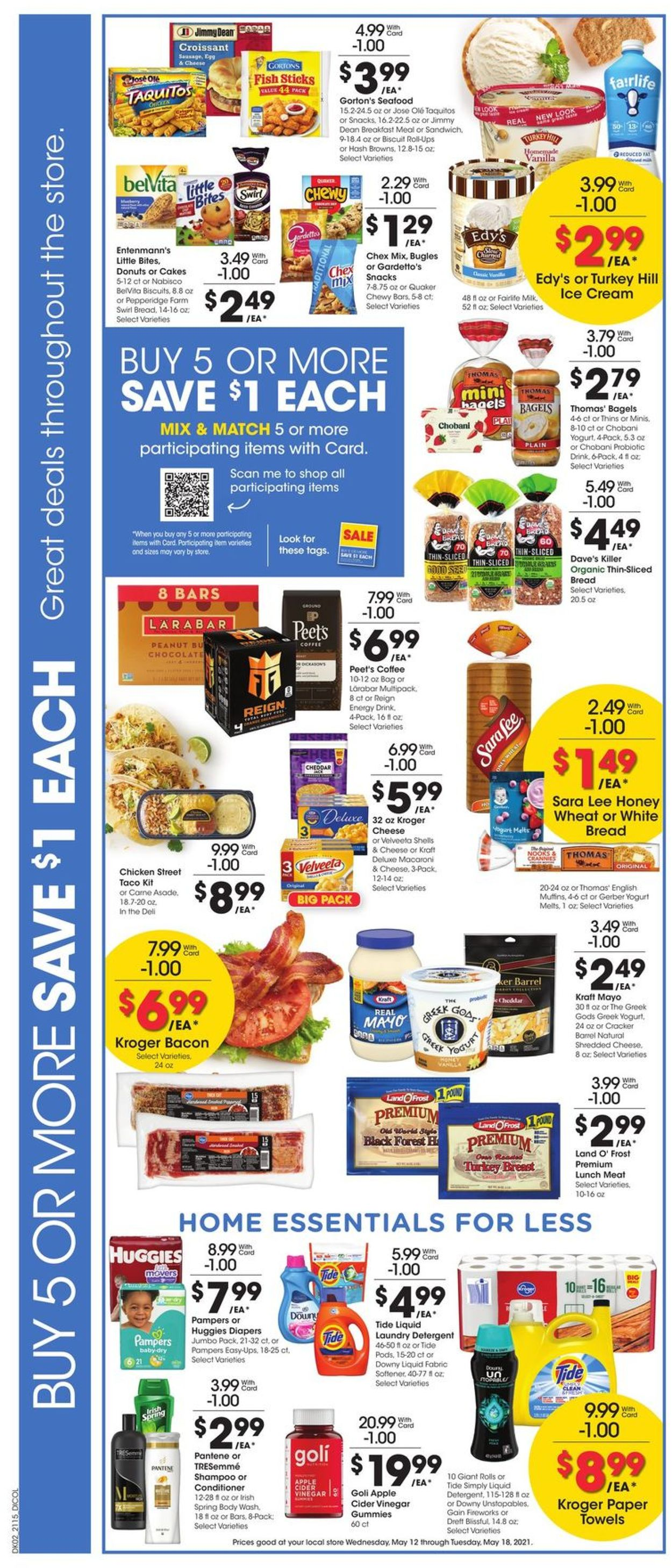 Catalogue Gerbes Super Markets from 05/12/2021
