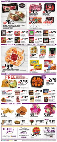 Catalogue Giant Food from 04/30/2021