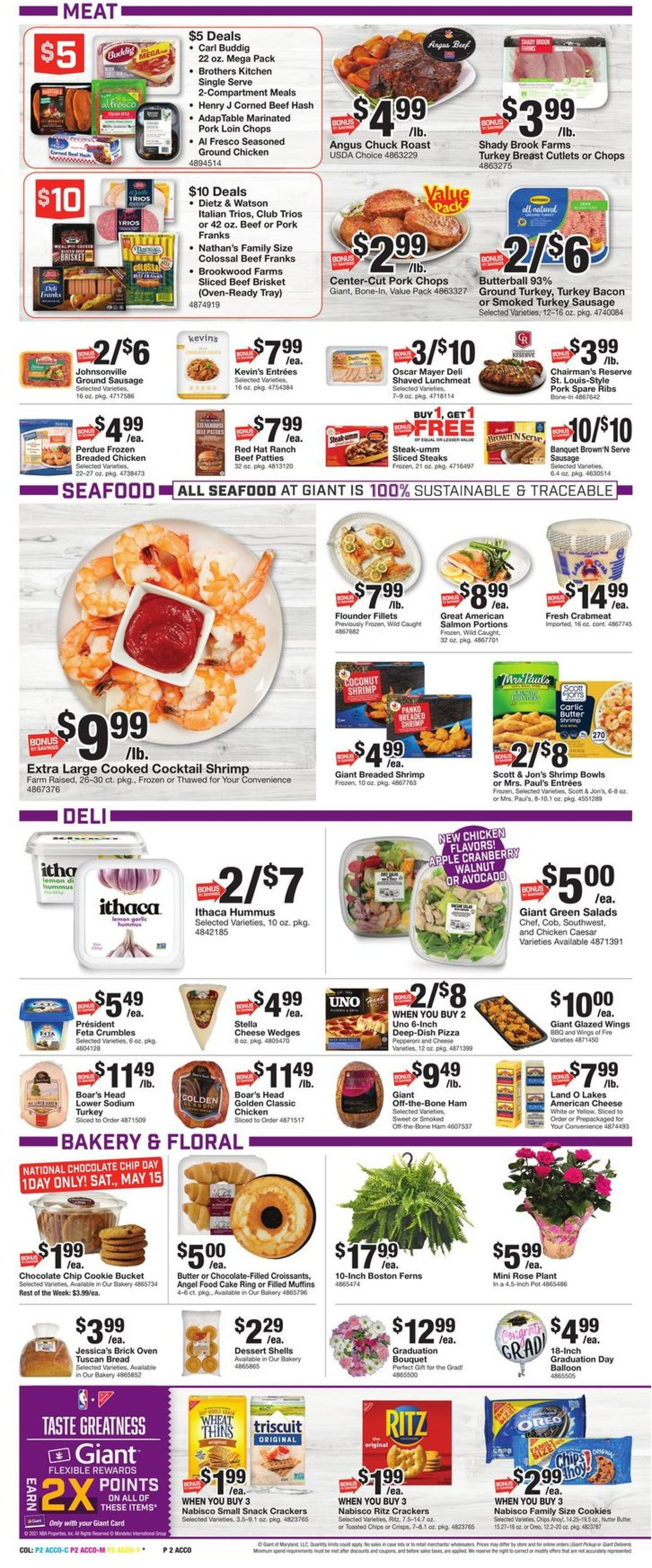 Catalogue Giant Food from 05/14/2021