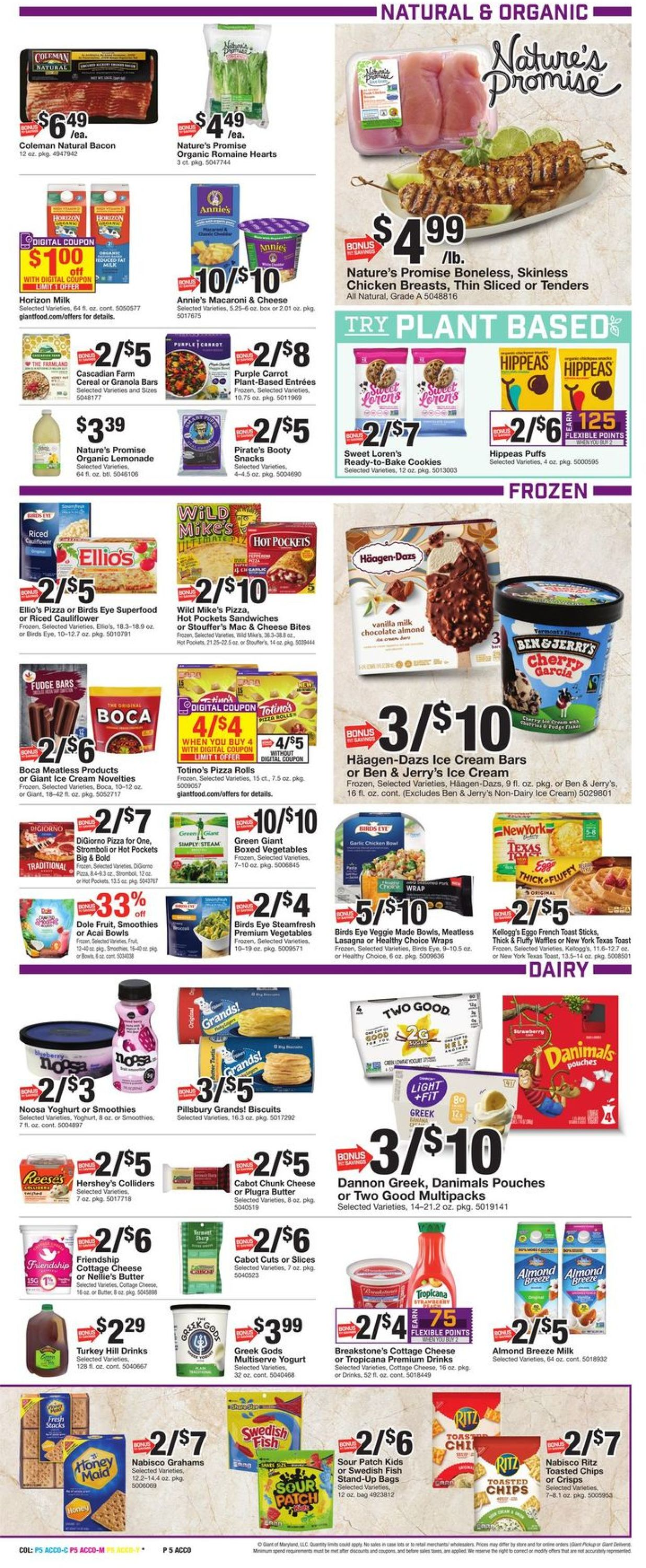 Catalogue Giant Food from 09/17/2021