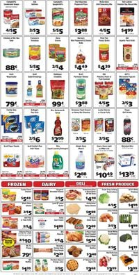 Catalogue Grant's Supermarket from 09/15/2021