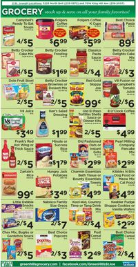 Catalogue Green Hills Grocery from 09/15/2021