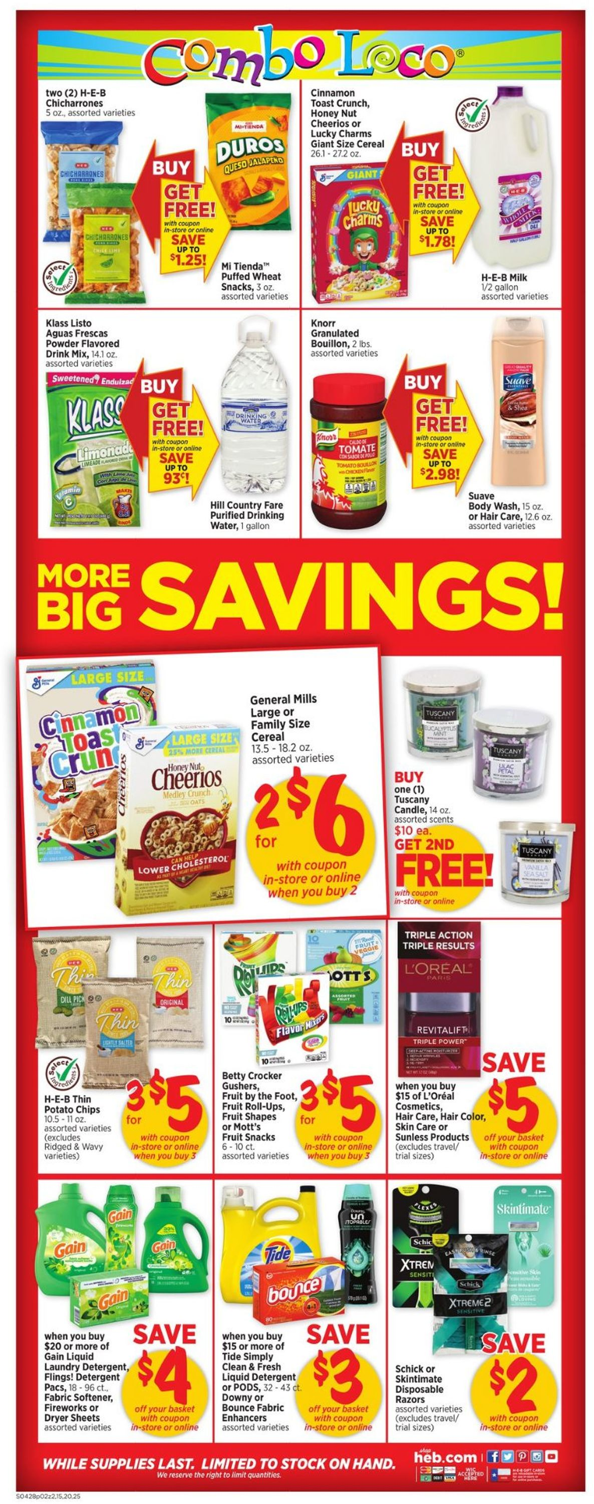Catalogue H-E-B from 04/28/2021