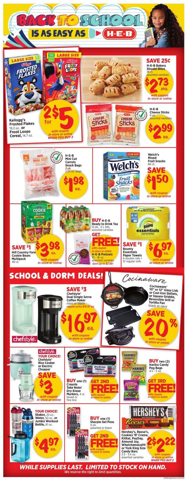 Catalogue H-E-B from 08/04/2021