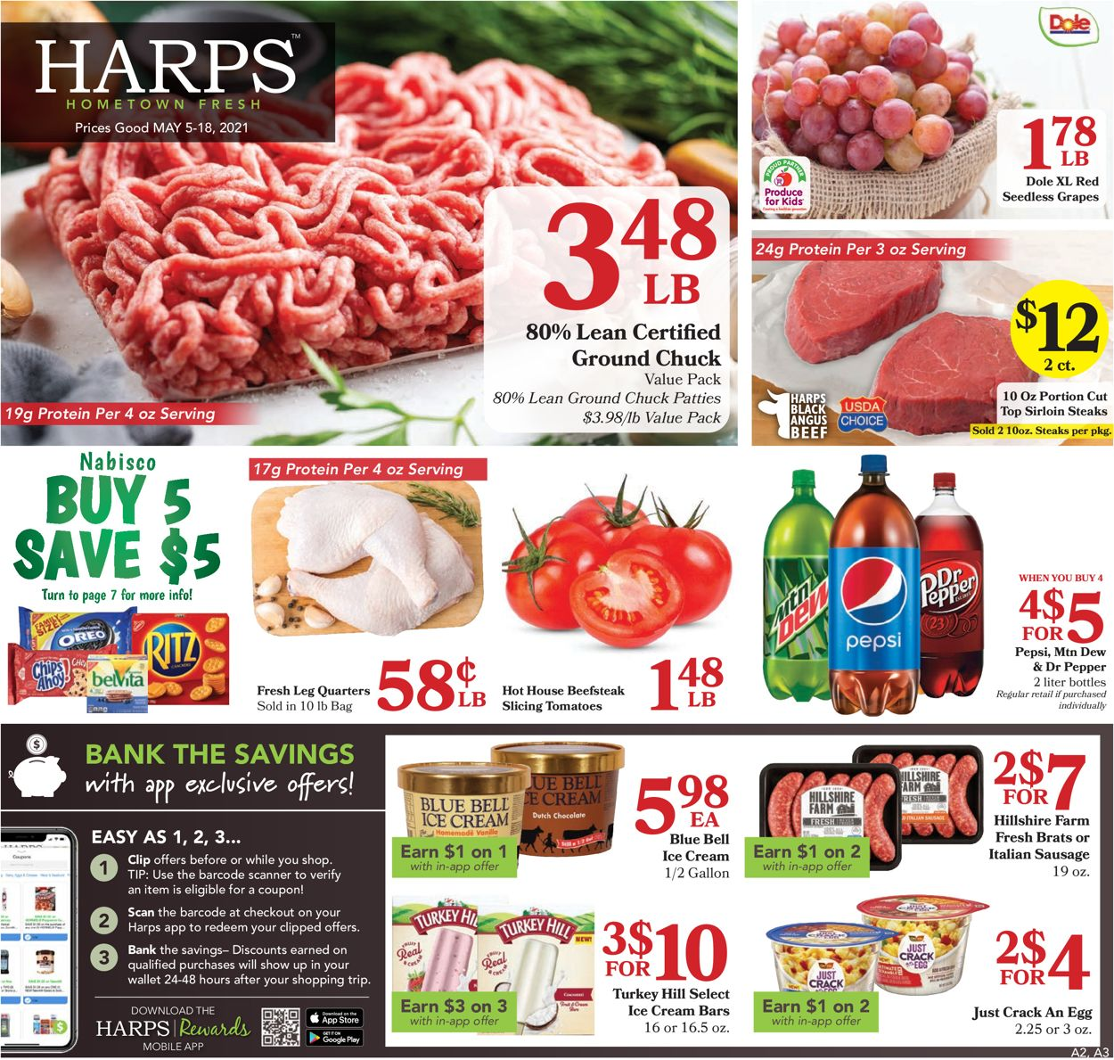 Catalogue Harps Foods from 05/05/2021