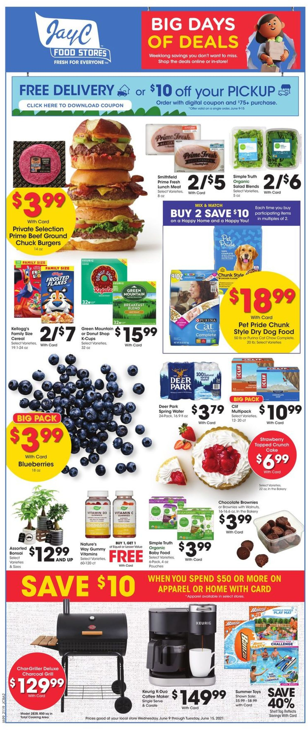 Catalogue Jay C Food Stores from 06/09/2021