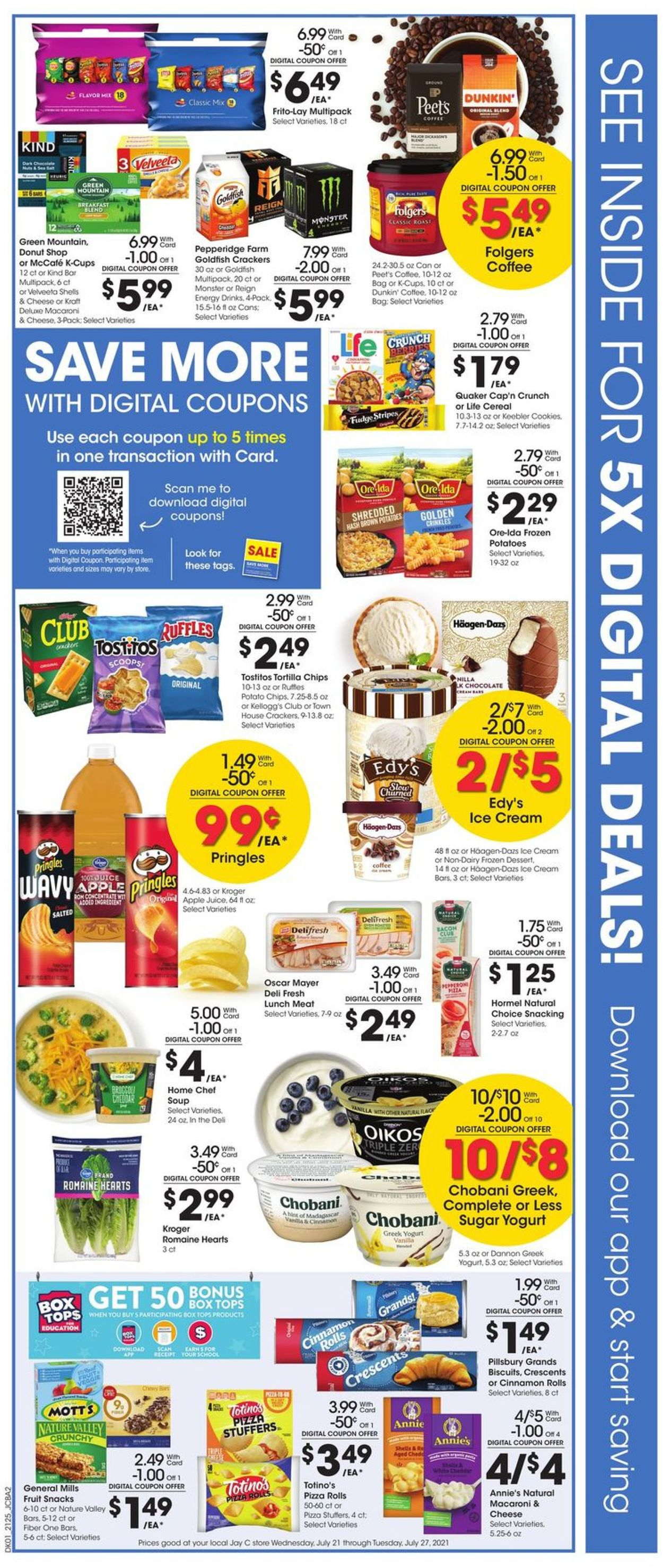 Catalogue Jay C Food Stores from 07/21/2021