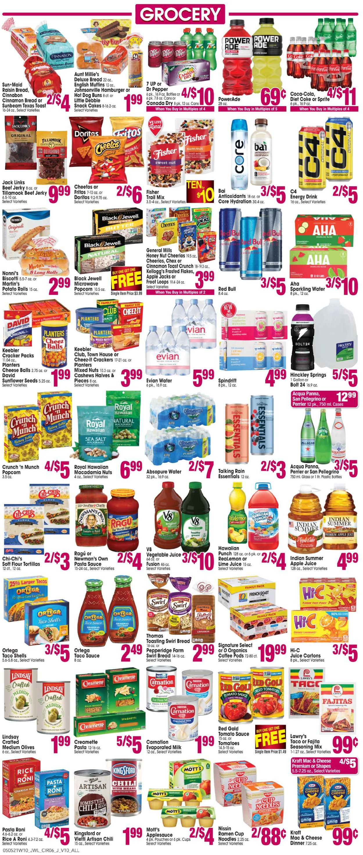 Catalogue Jewel Osco from 05/05/2021