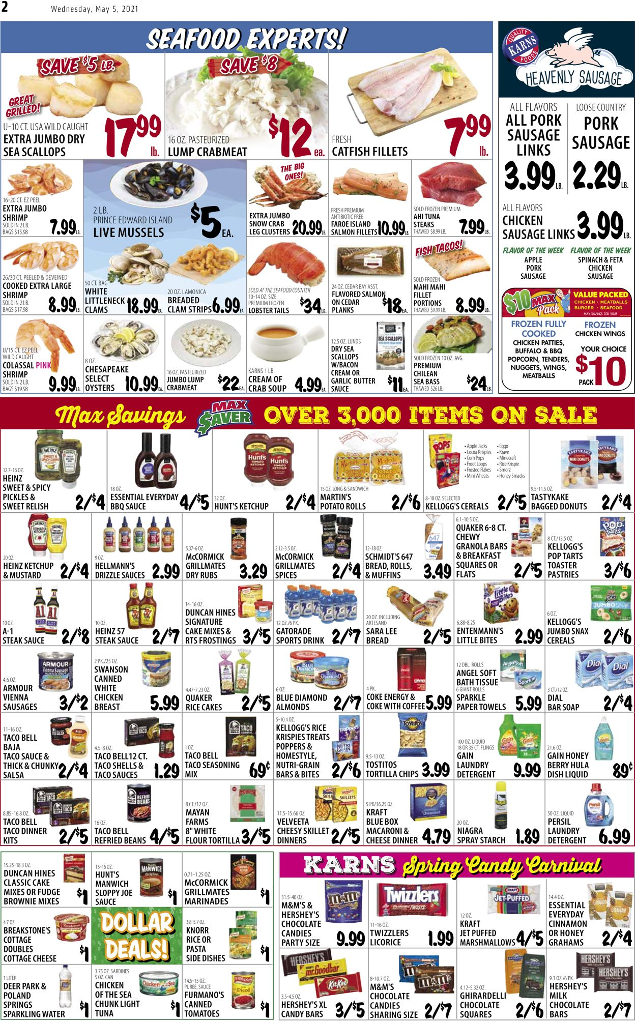 Catalogue Karns Quality Foods from 05/04/2021
