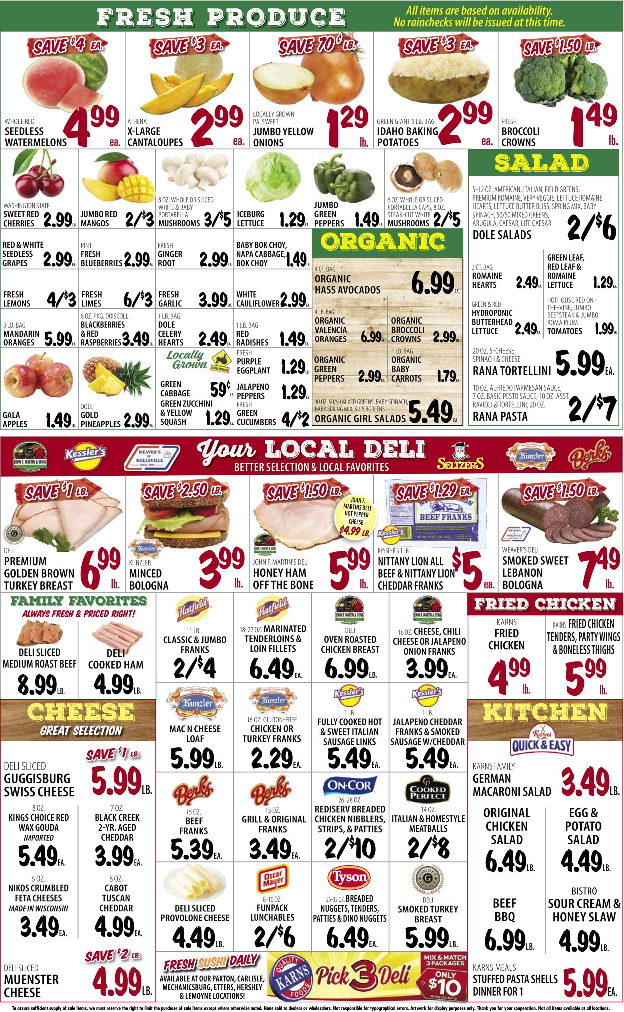 Catalogue Karns Quality Foods from 07/20/2021
