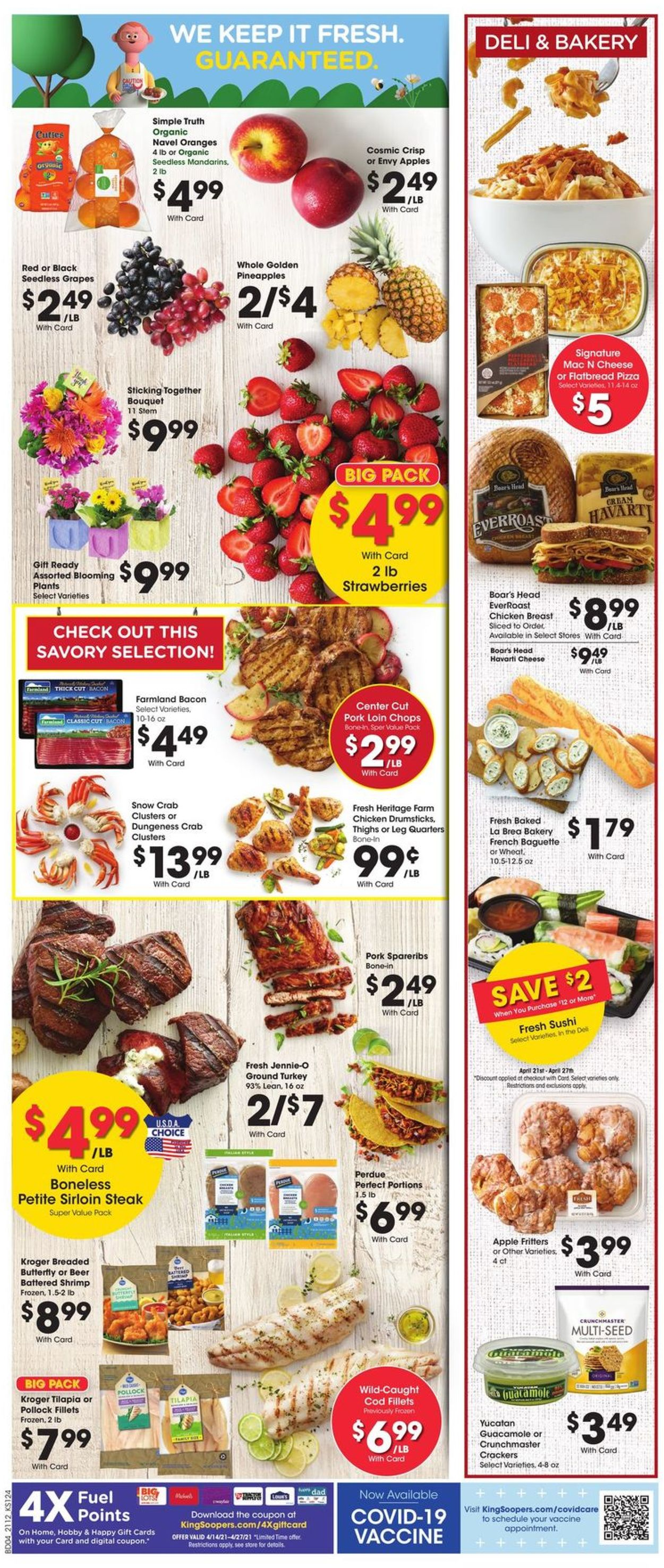 Catalogue King Soopers from 04/21/2021