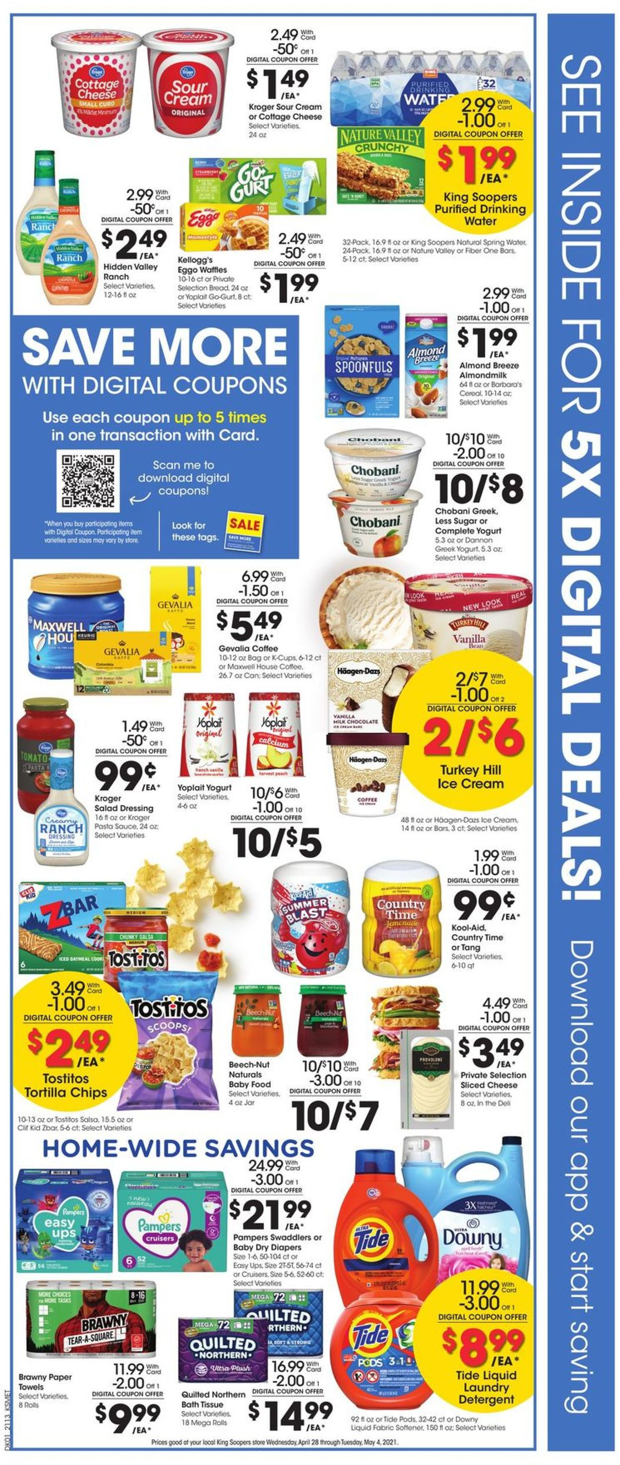 Catalogue King Soopers from 04/28/2021