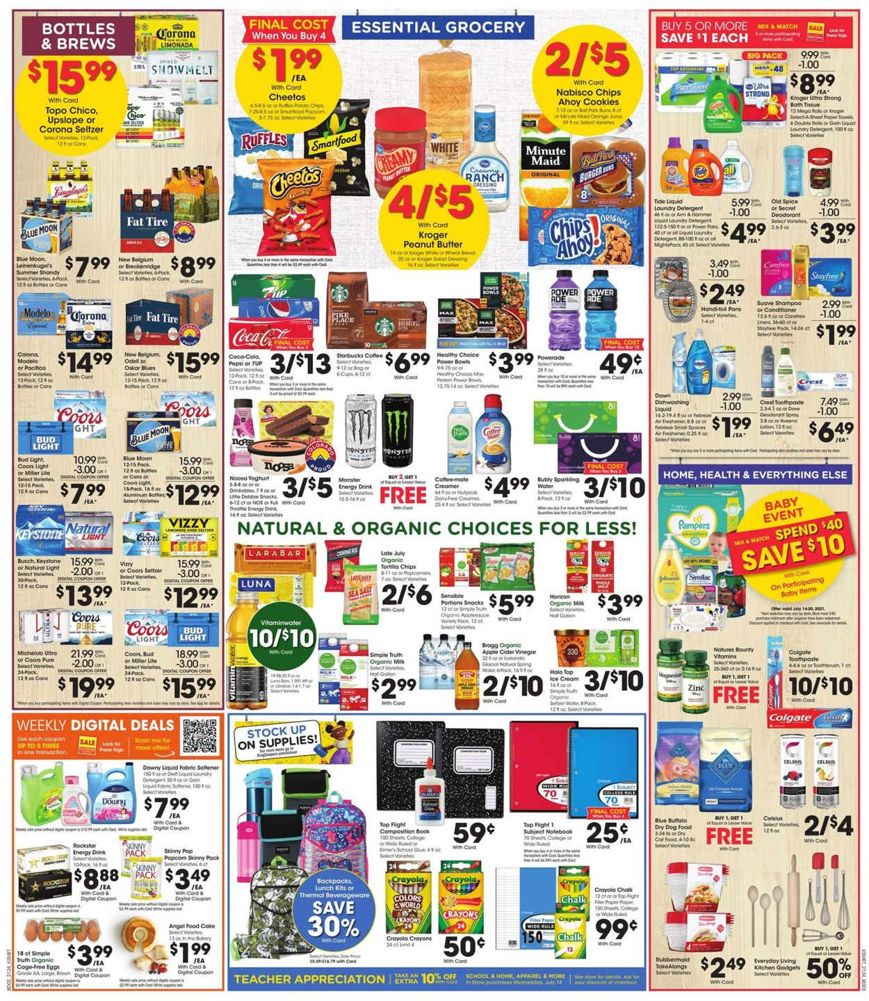 Catalogue King Soopers from 07/14/2021