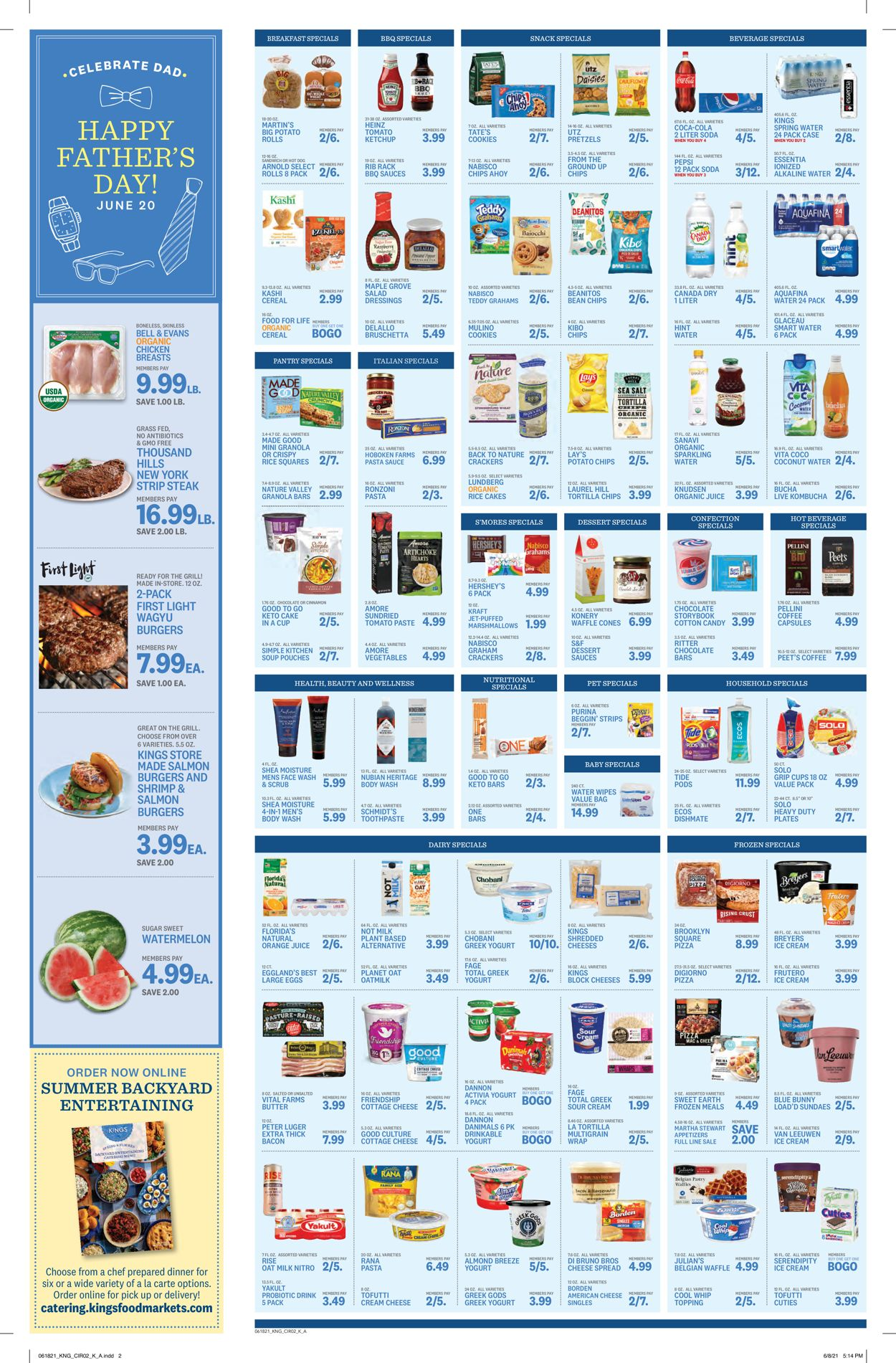 Catalogue Kings Food Markets from 06/18/2021