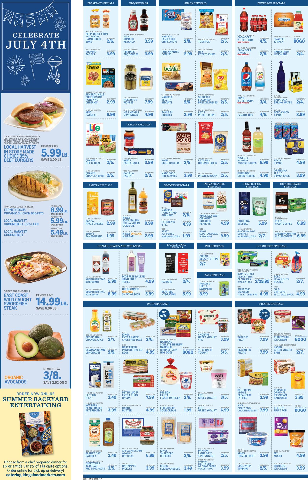 Catalogue Kings Food Markets from 06/25/2021