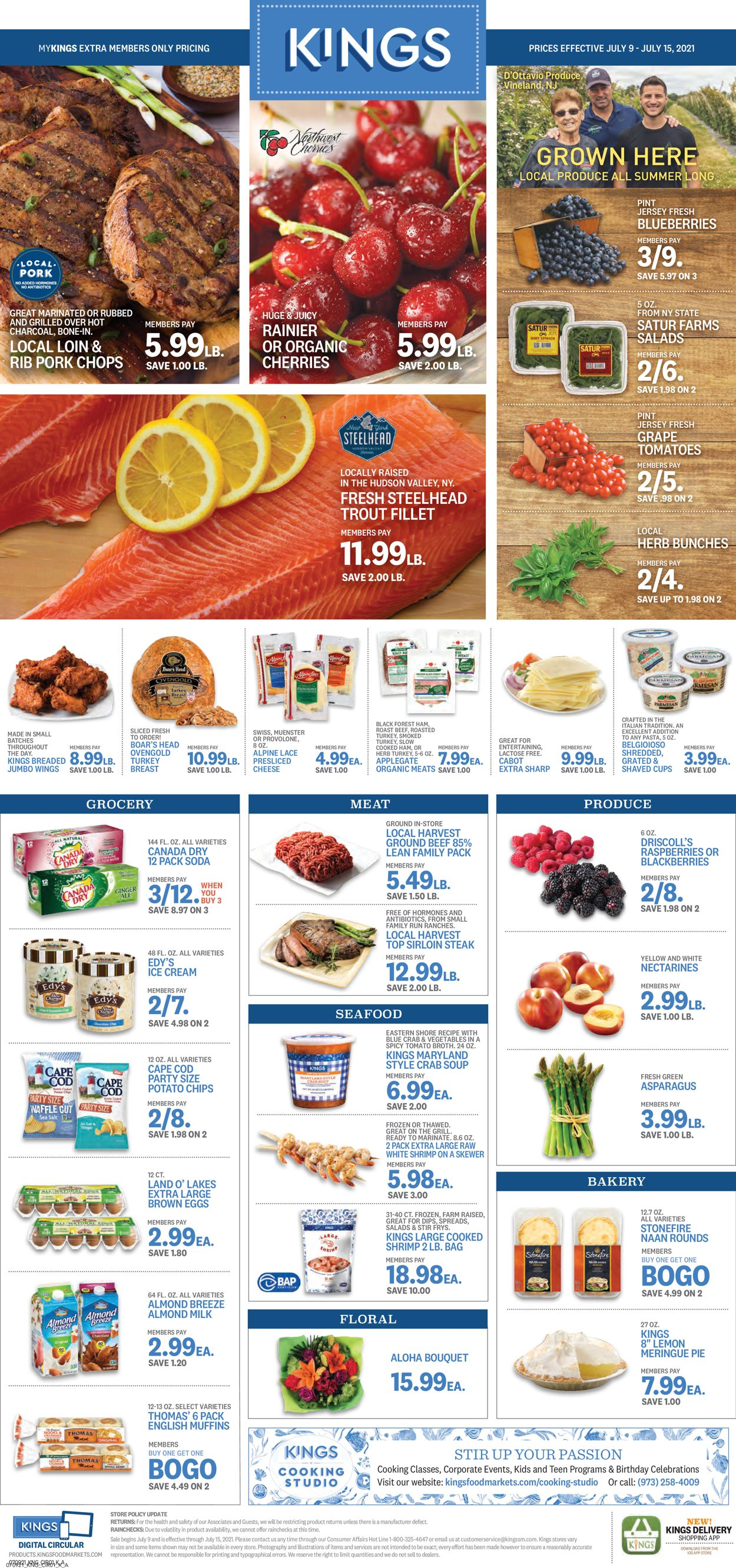 Catalogue Kings Food Markets from 07/09/2021