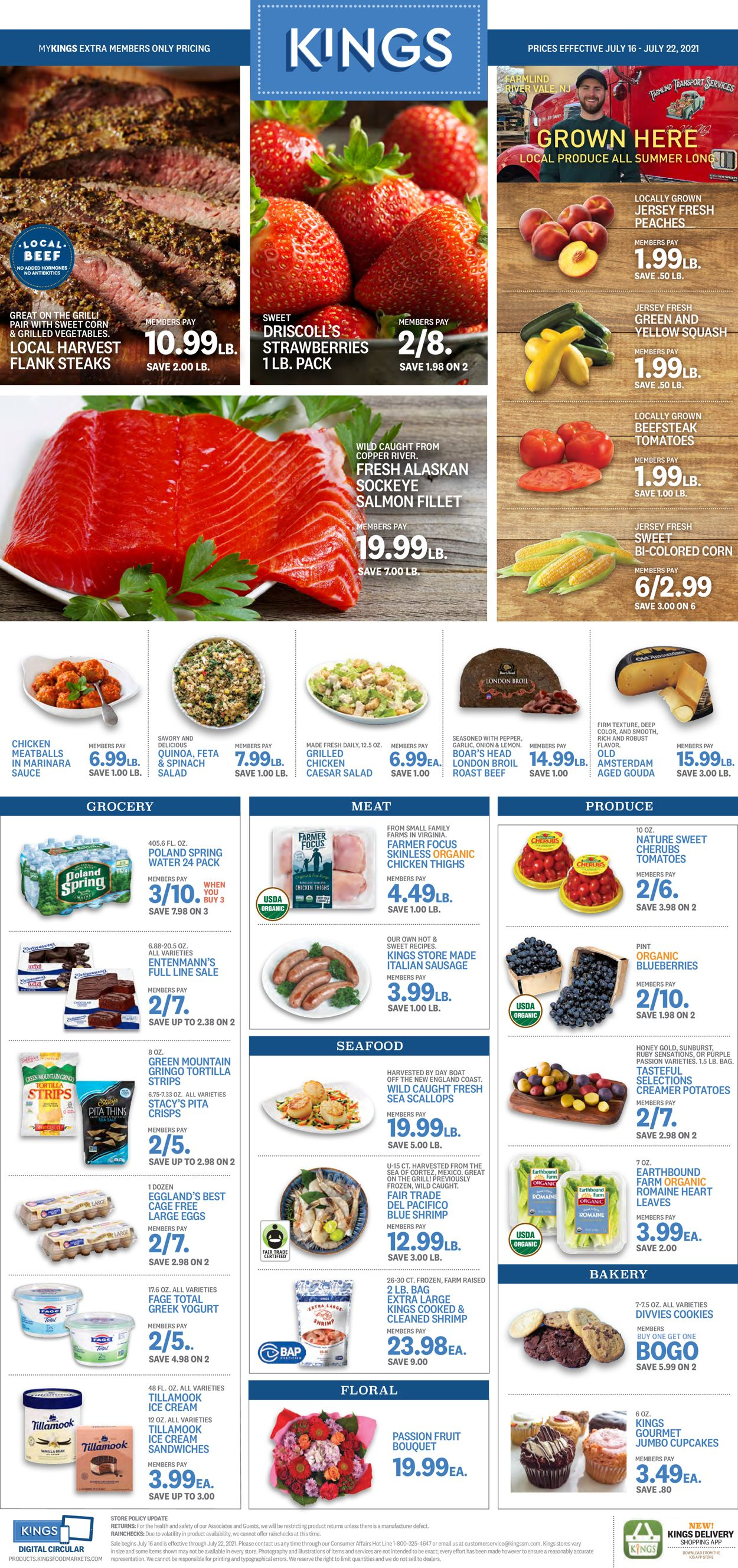 Catalogue Kings Food Markets from 07/16/2021