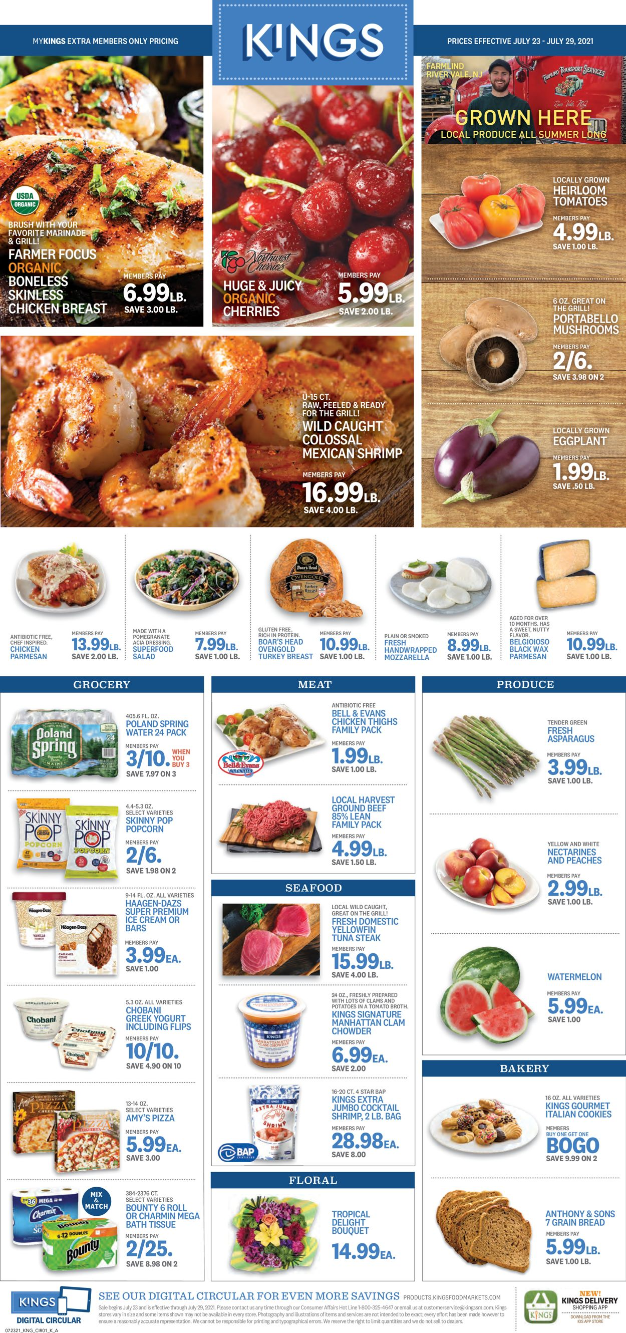 Catalogue Kings Food Markets from 07/23/2021