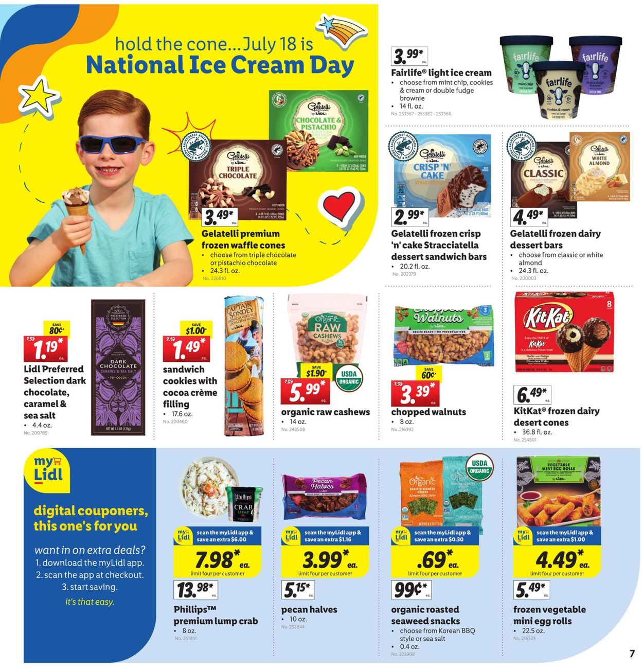 Catalogue Lidl from 07/14/2021