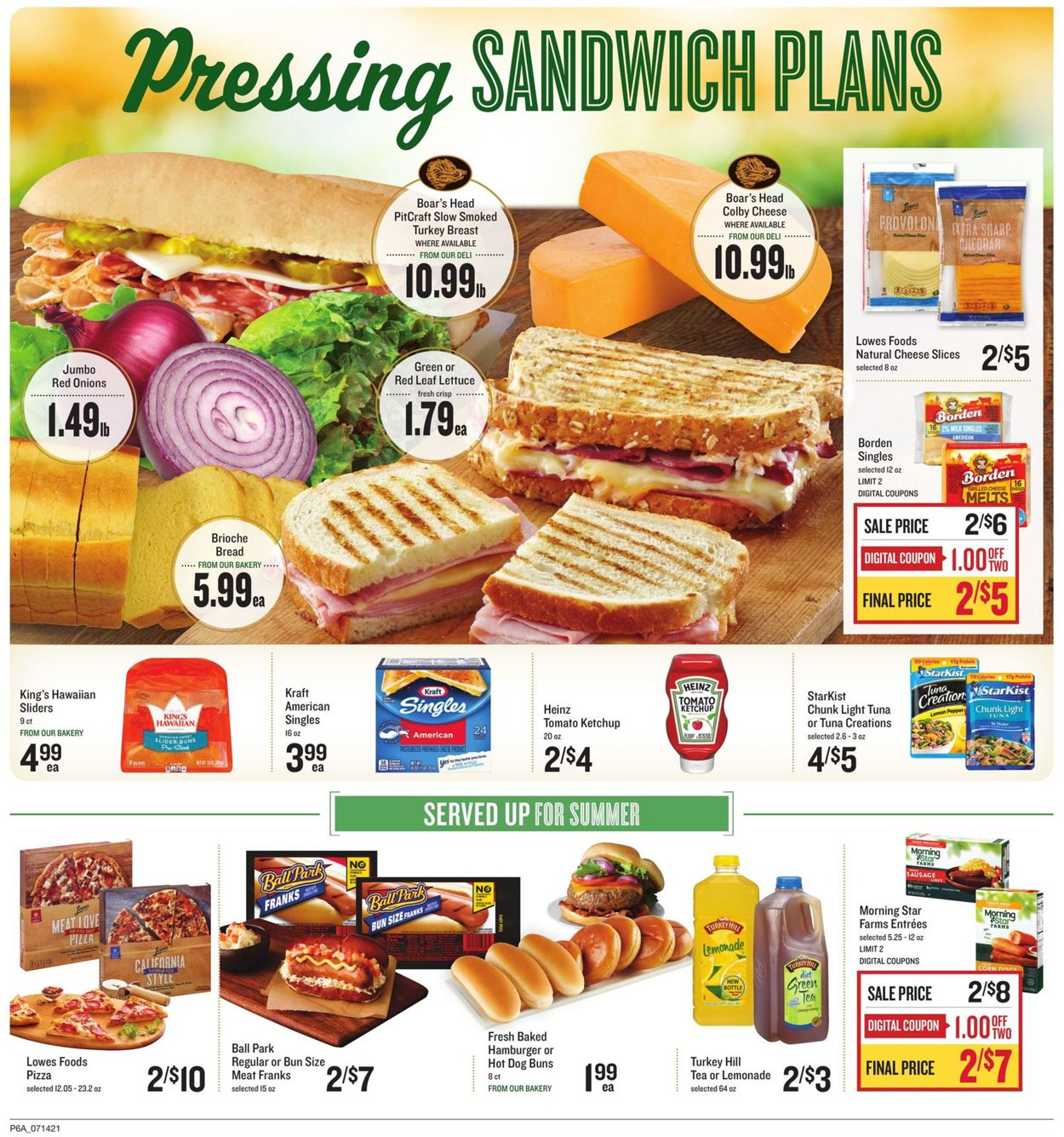 Catalogue Lowes Foods from 07/14/2021
