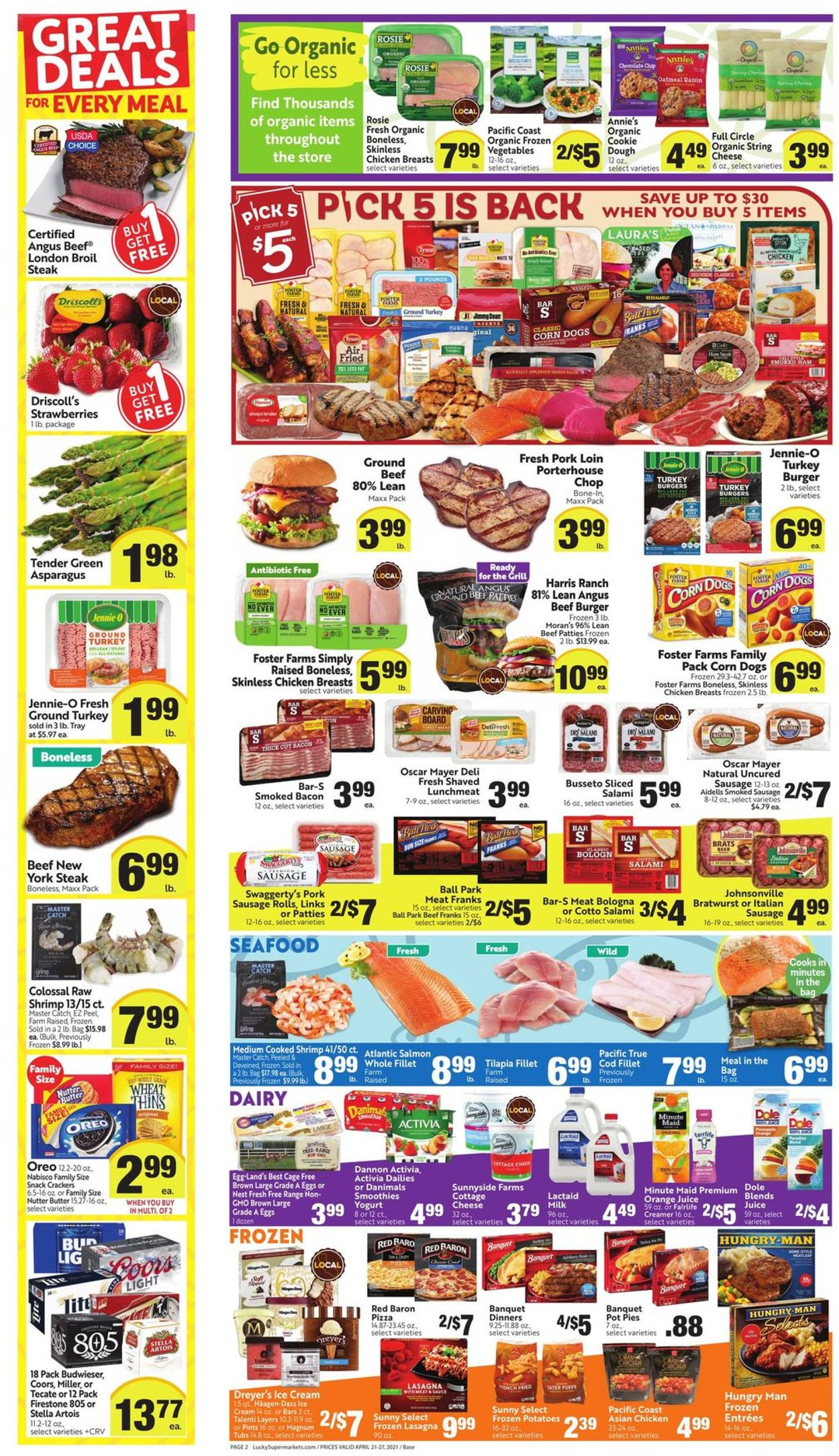Catalogue Lucky Supermarkets from 04/21/2021