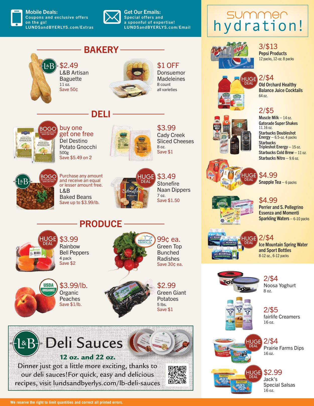 Catalogue Lunds & Byerlys from 07/08/2021