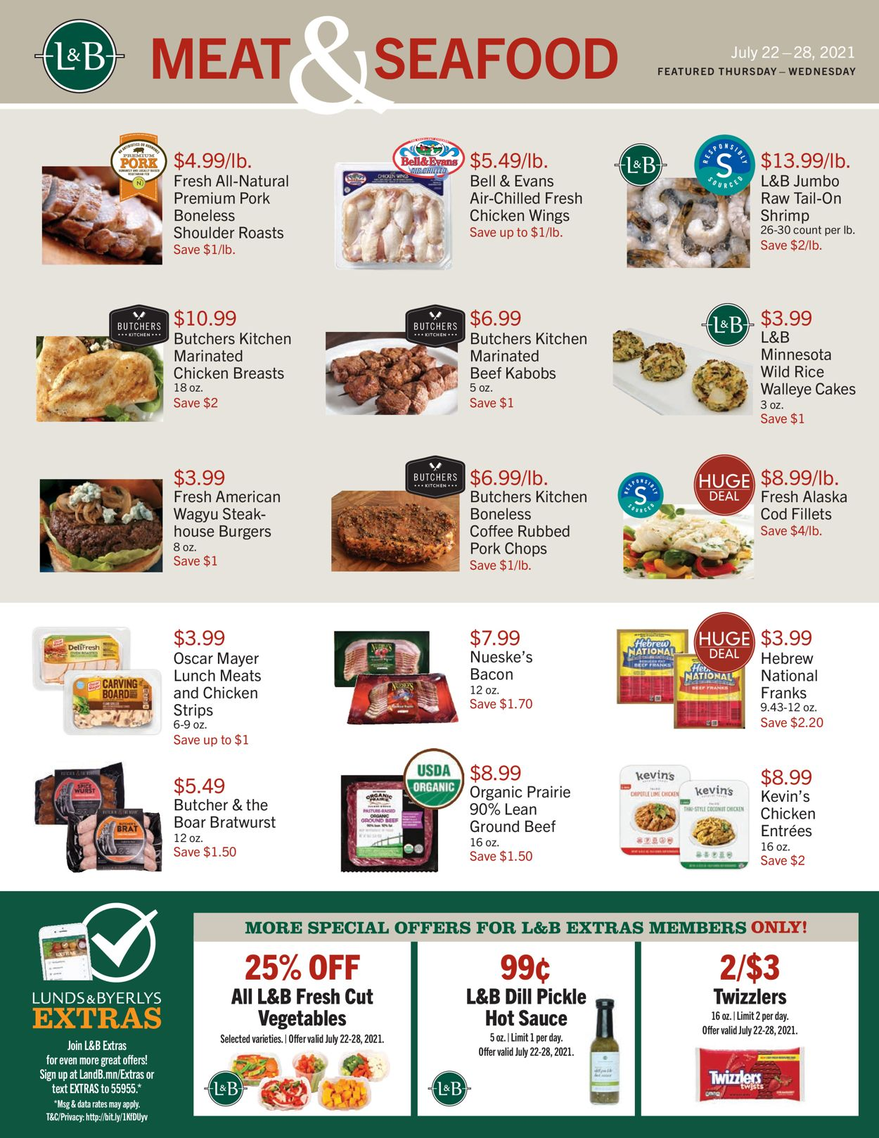 Catalogue Lunds & Byerlys from 07/22/2021