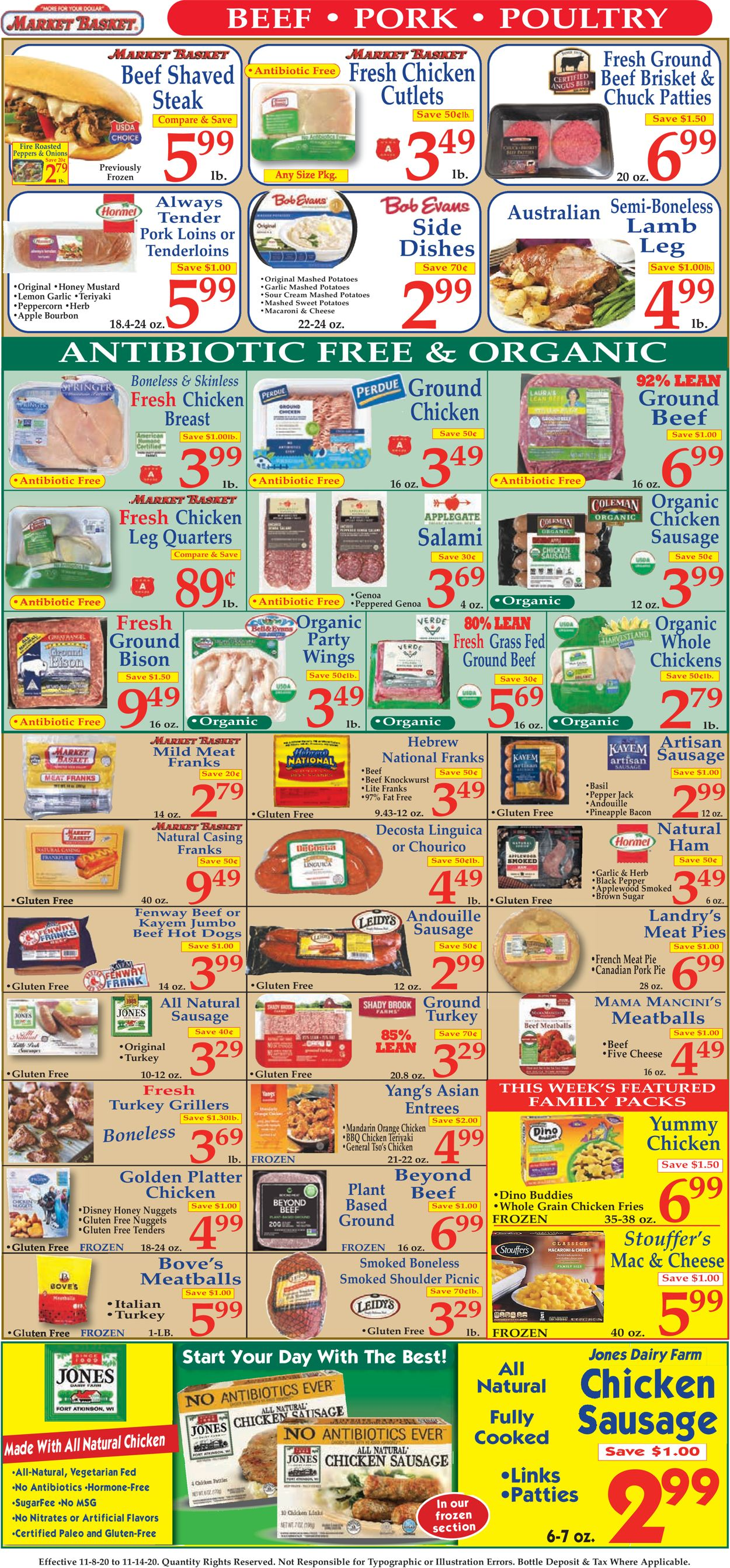 Catalogue Market Basket from 11/09/2020