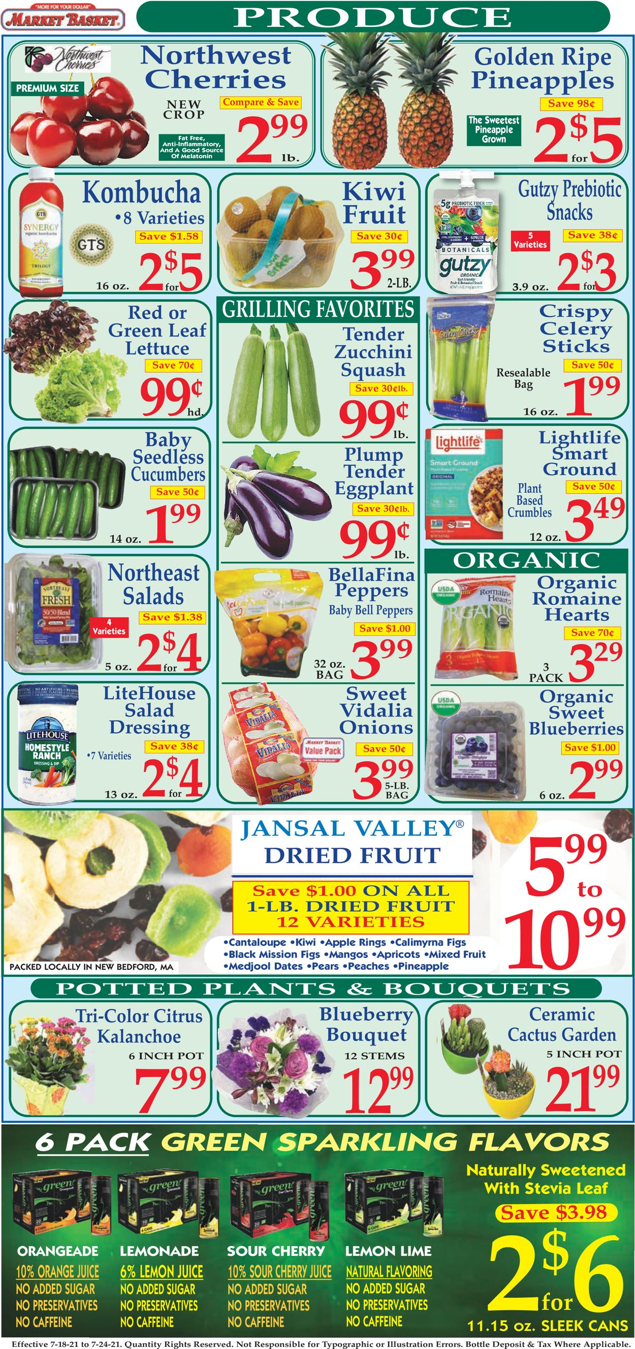 Catalogue Market Basket from 07/18/2021