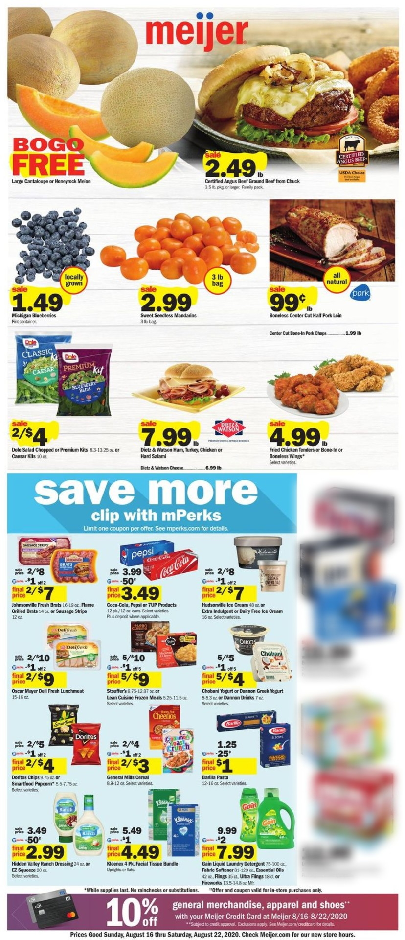 Catalogue Meijer from 08/16/2020
