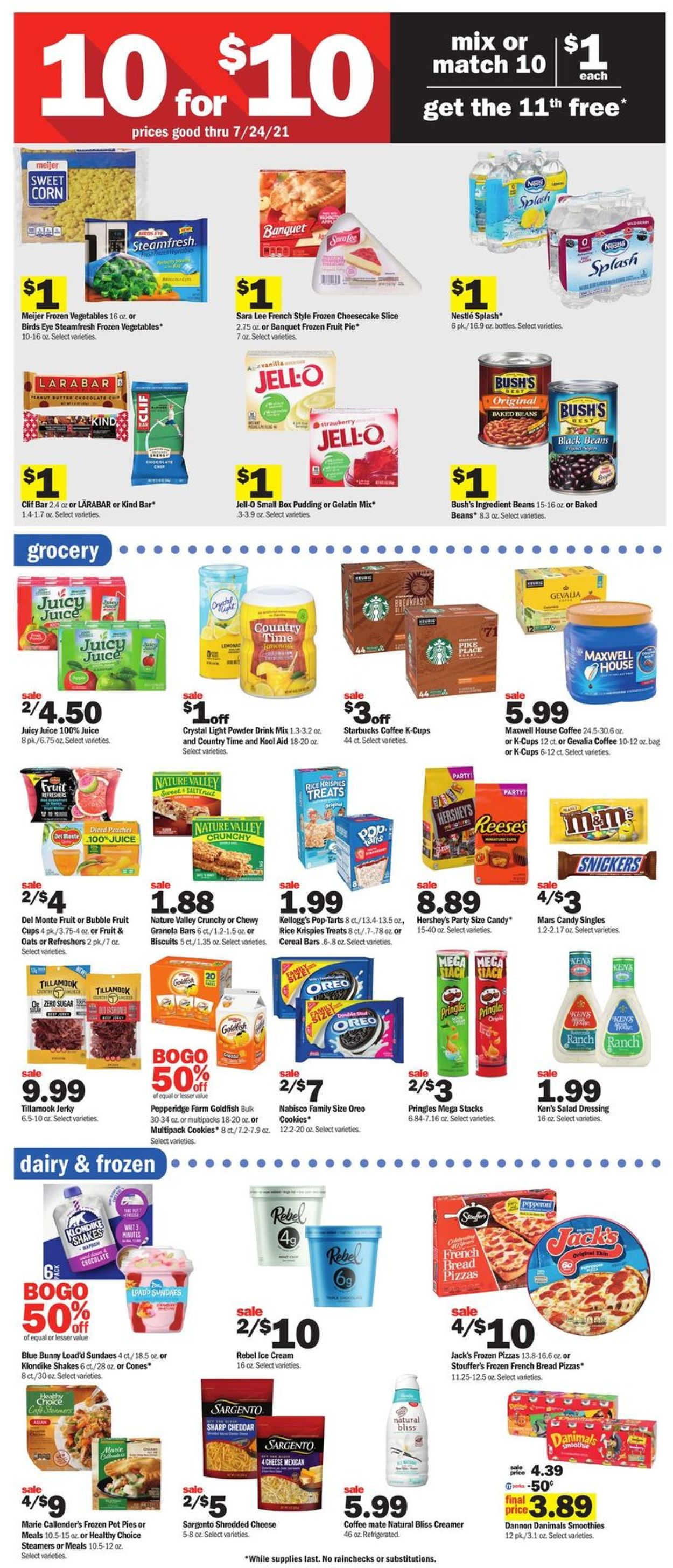 Catalogue Meijer from 07/18/2021