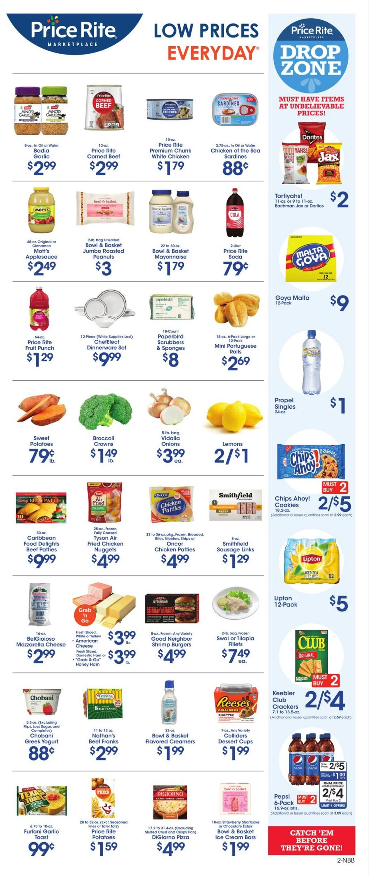 Catalogue Price Rite from 07/23/2021