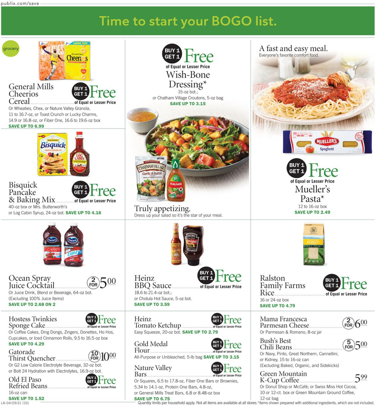 Catalogue Publix from 04/29/2021