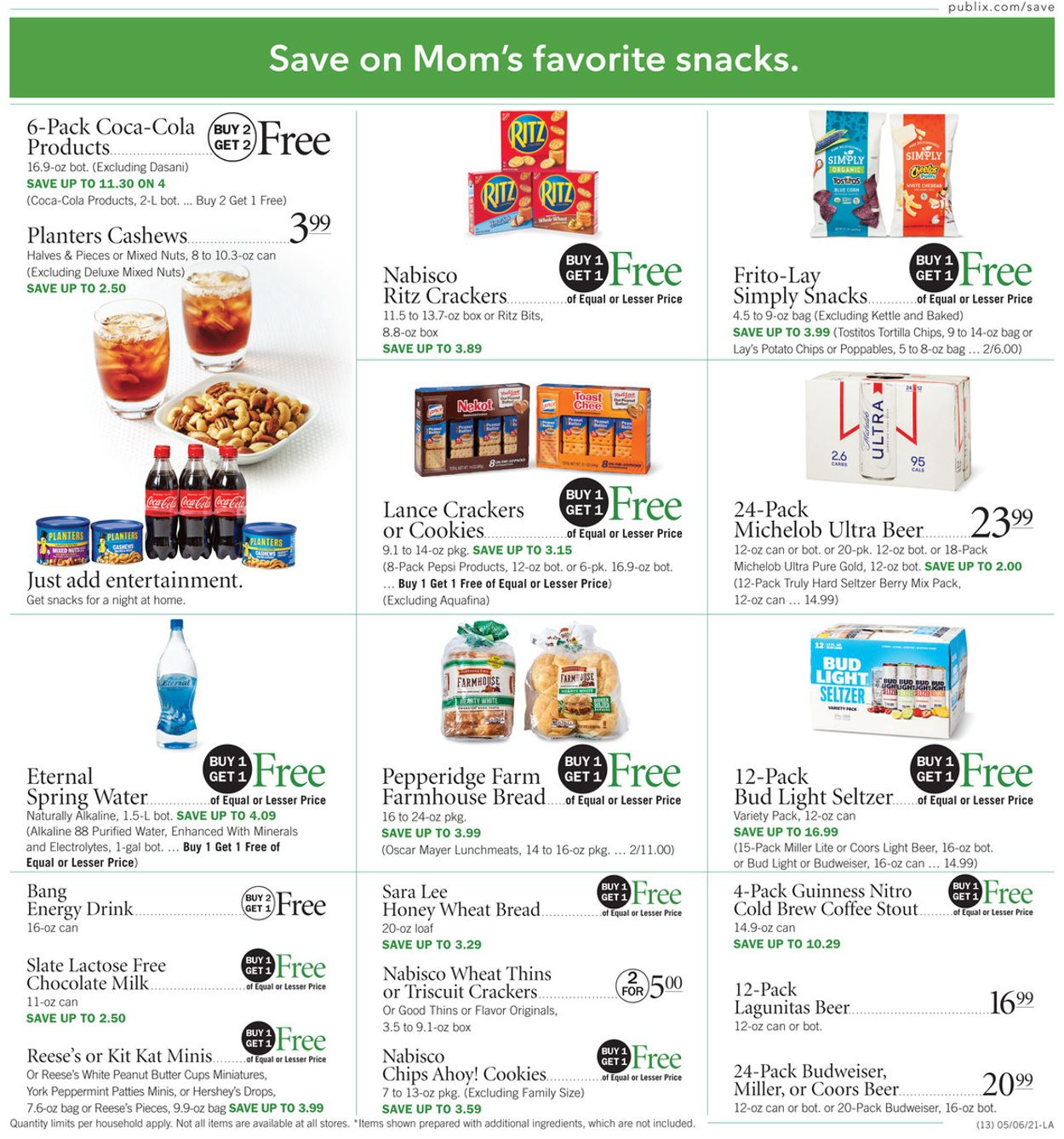 Catalogue Publix from 05/06/2021