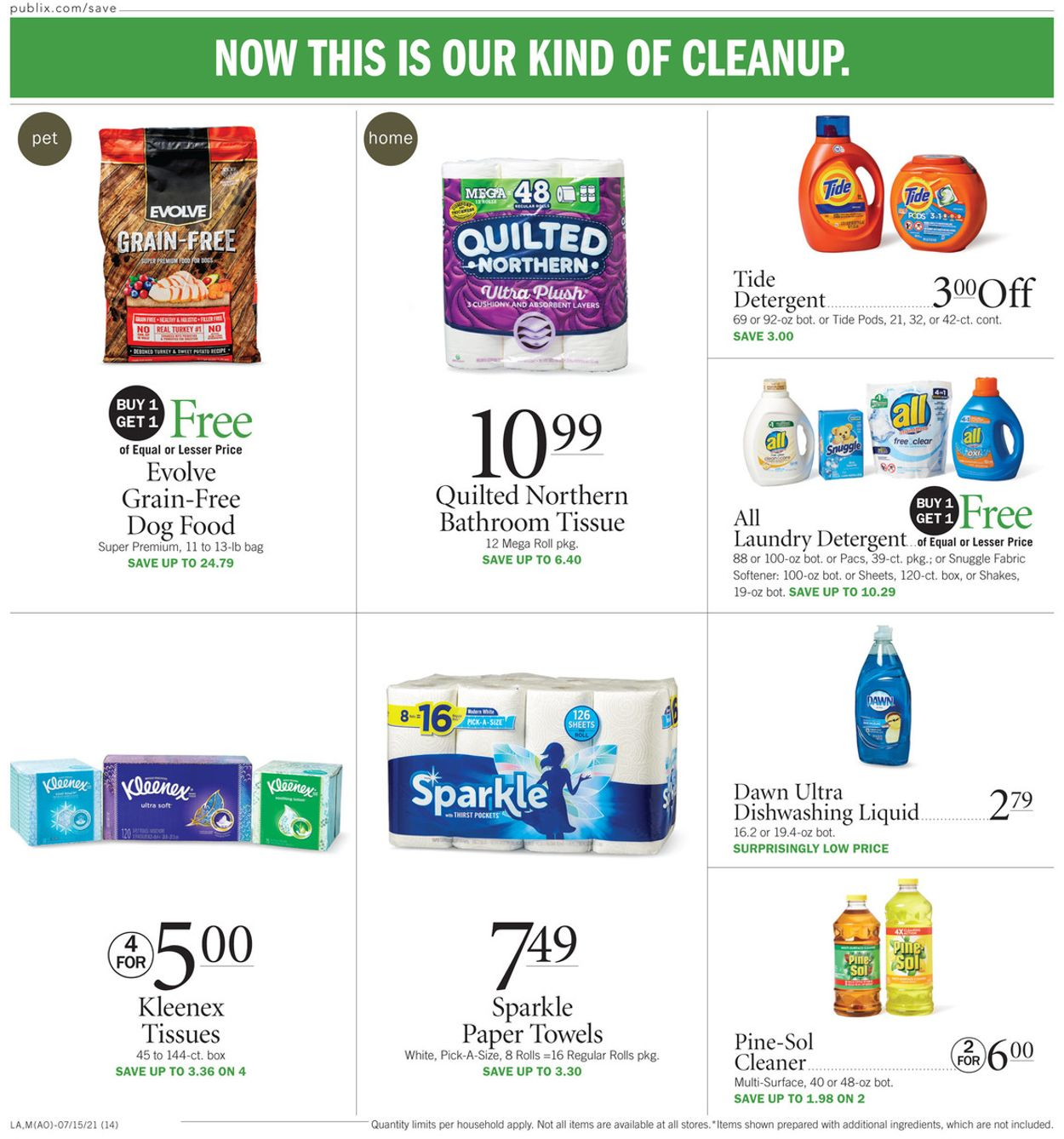 Catalogue Publix from 07/15/2021