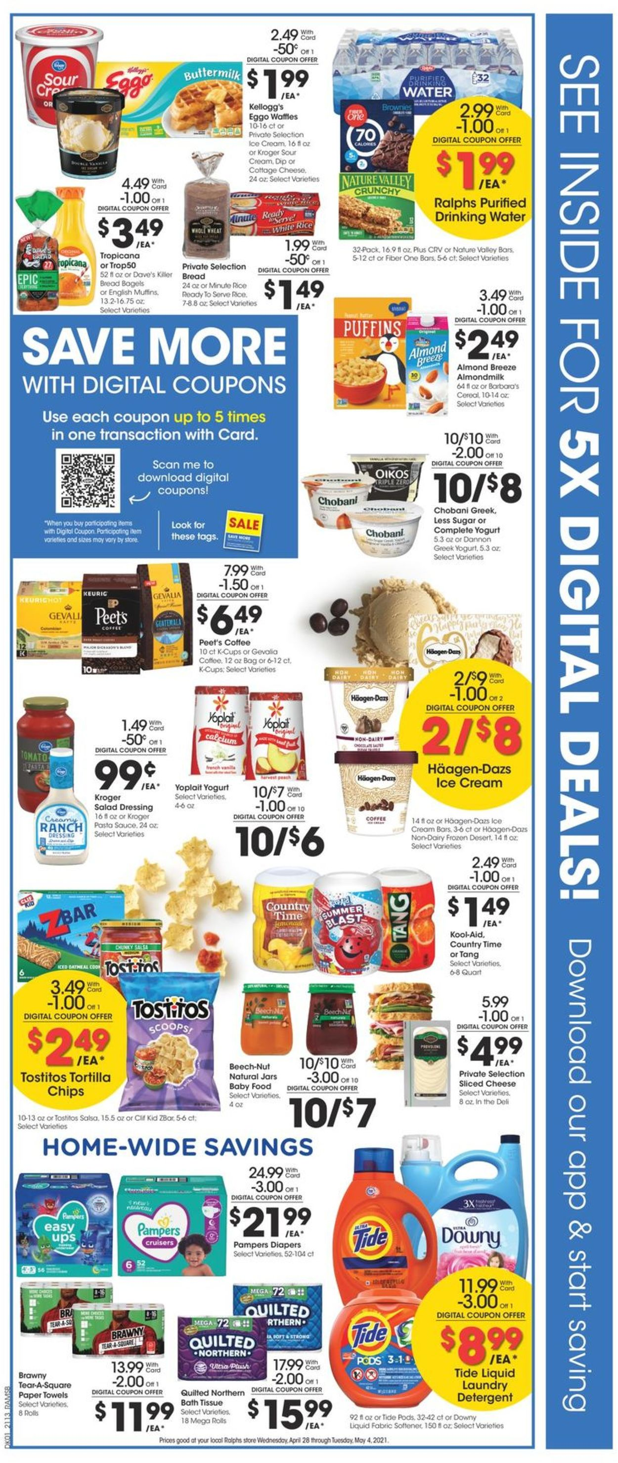 Catalogue Ralphs from 04/28/2021