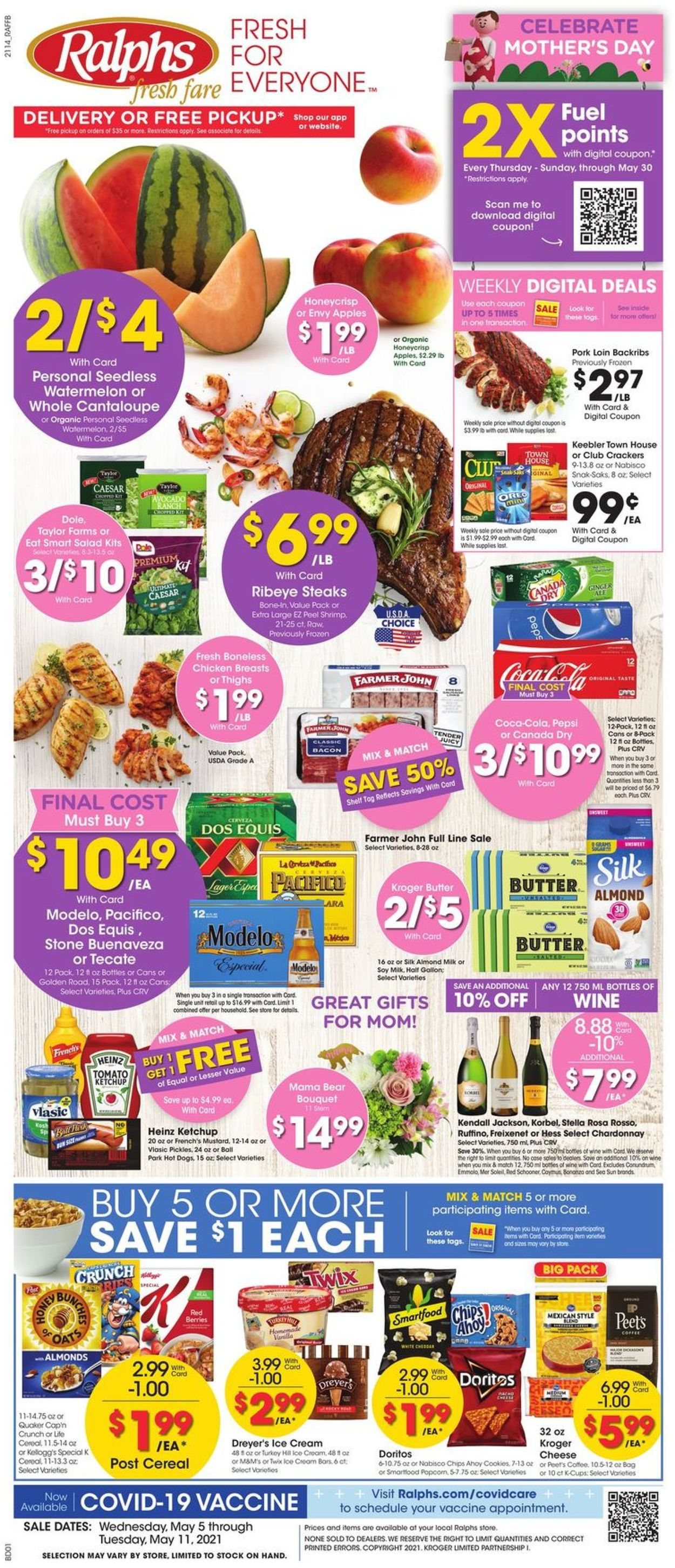 Catalogue Ralphs from 05/05/2021